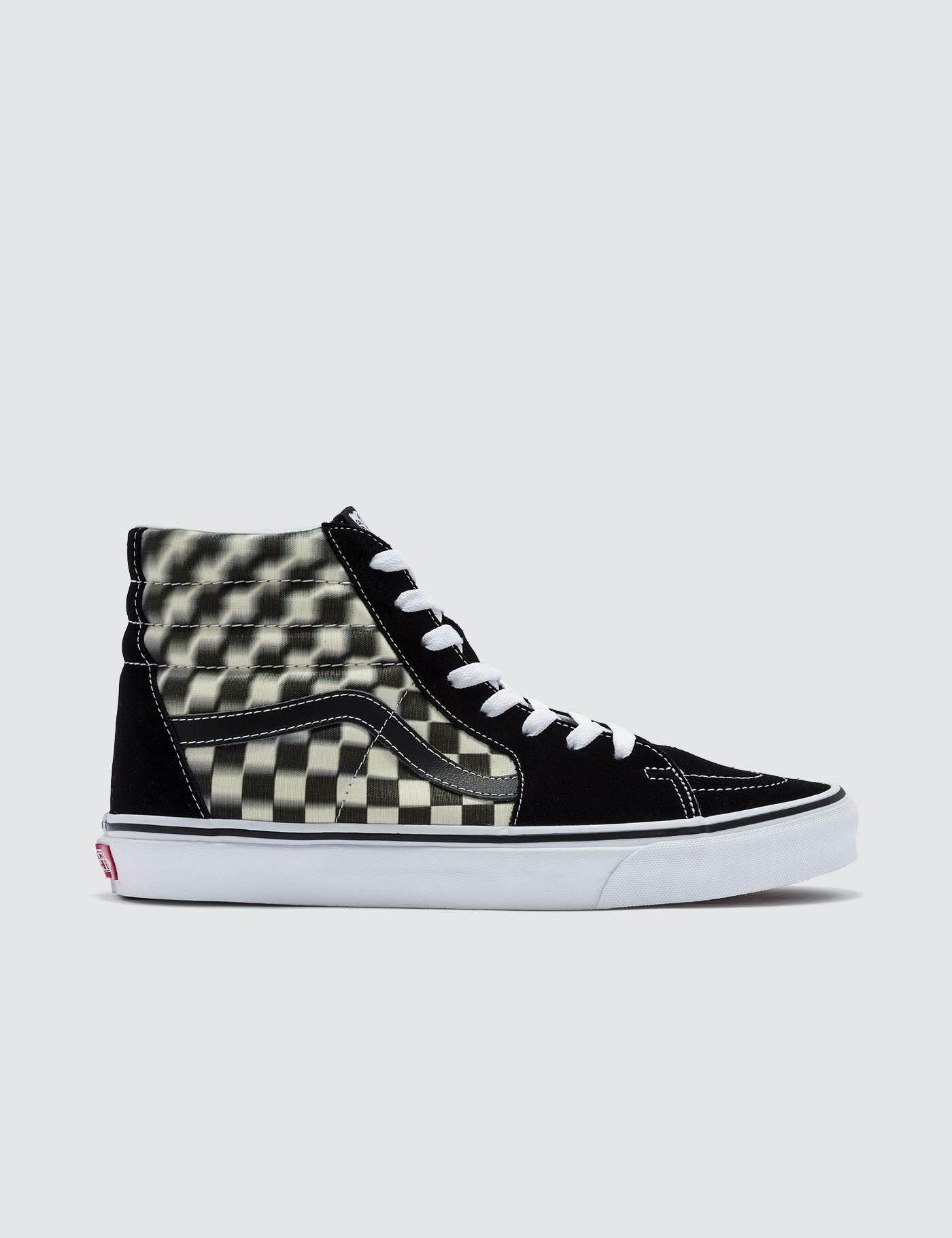 465974356382a9 Vans Sk8-hi in Black for Men - Lyst