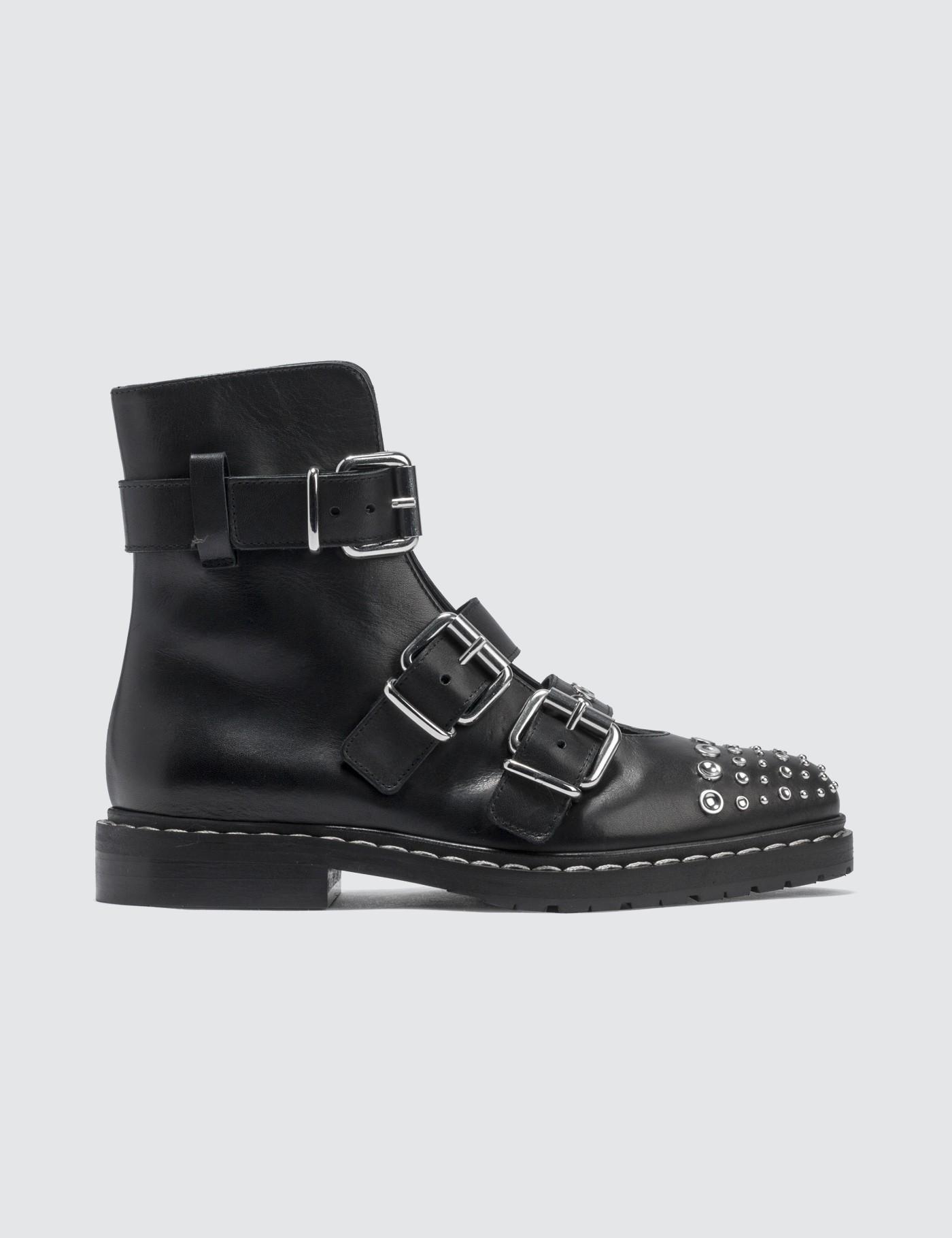 cbd1095e9618 Lyst - McQ Fate Boots in Black