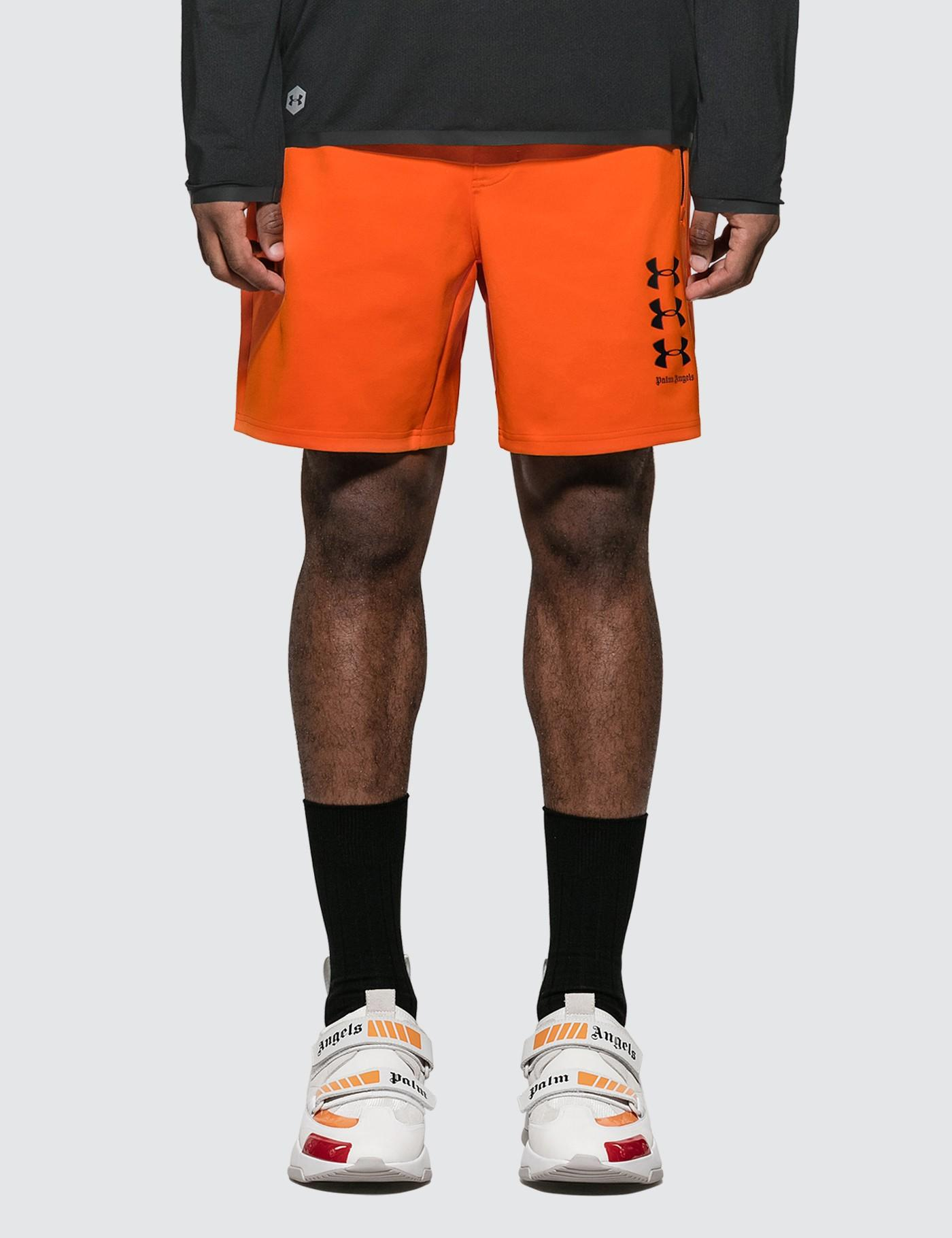 004d0509ee Palm Angels - X Ua Orange Shorts for Men - Lyst. View fullscreen