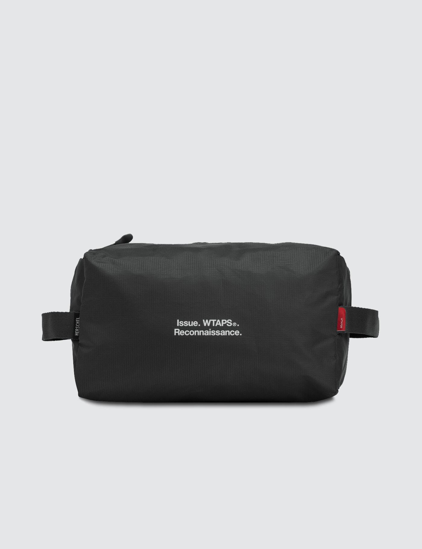 4265e12b362a Lyst - Herschel Supply Co. Wtaps X W-382 Toiletry Bag in Black for Men