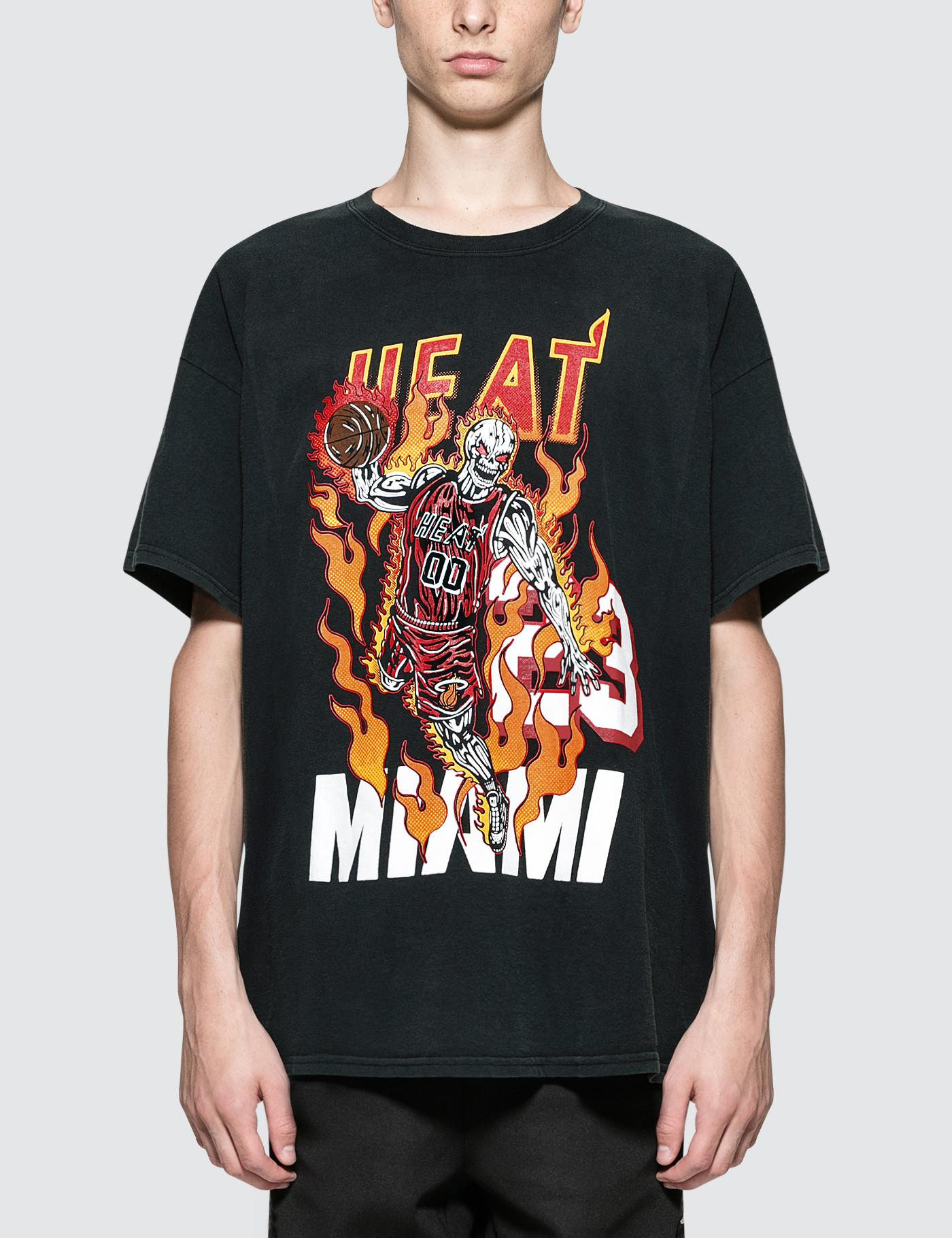 adb776bacae Warren Lotas Heat Athletics T-shirt in Black for Men - Lyst