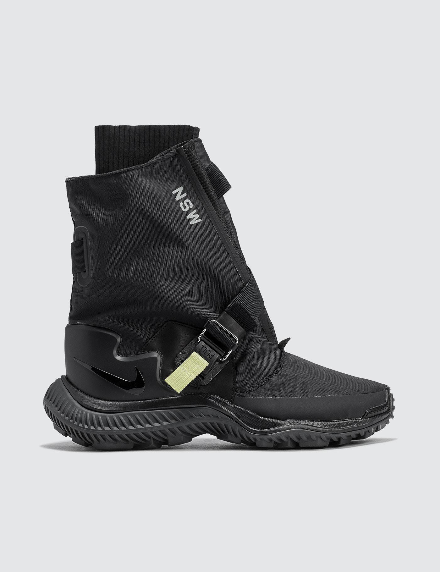 Nike. Men's Black Nsw Gaiter Boot