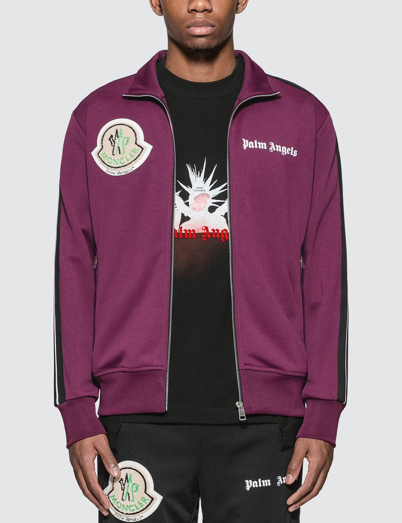df249cb11 Moncler Genius X Palm Angels Track Jacket in Green for Men - Lyst