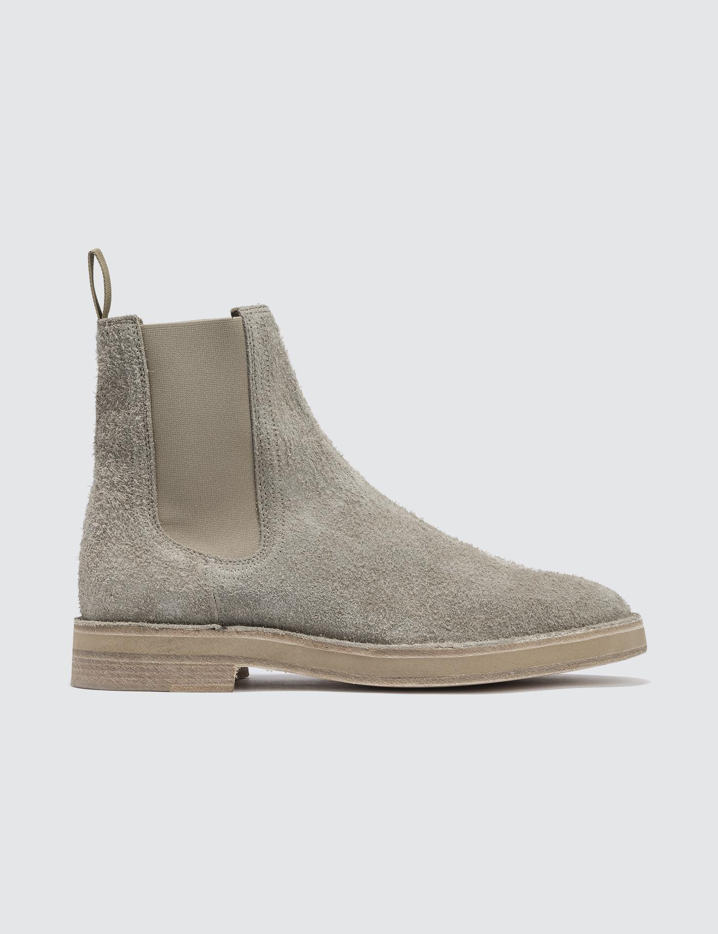 4ed391363ff Lyst - Yeezy Chelsea Boot In Suede for Men