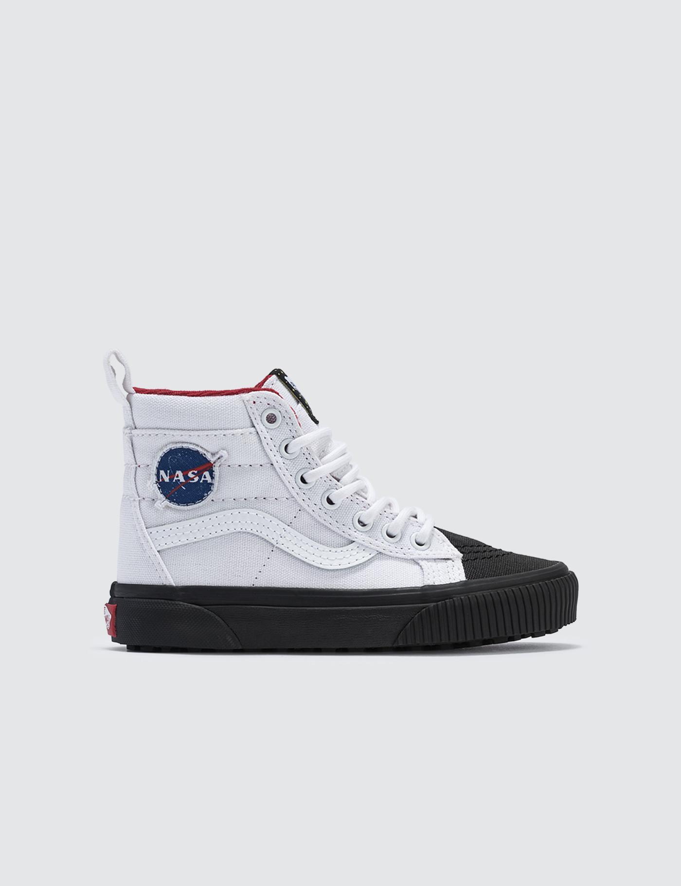 df678e1853 Vans Space Voyager Sk8-hi Mte Kids in White - Lyst