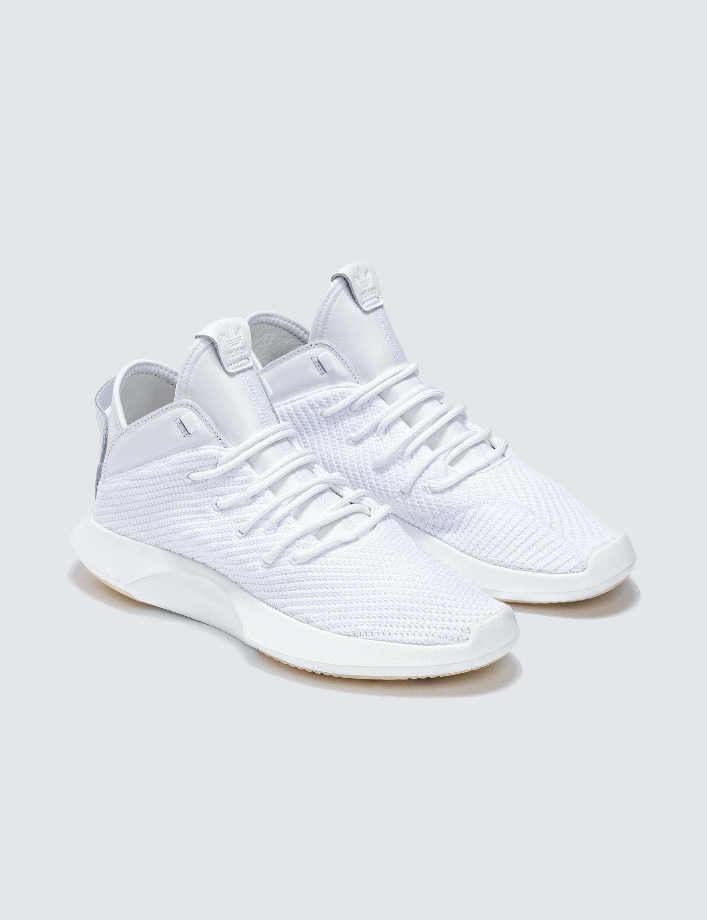 the best attitude 68be2 6cb84 adidas Originals Crazy 1 Adv Primeknit in White for Men - Ly