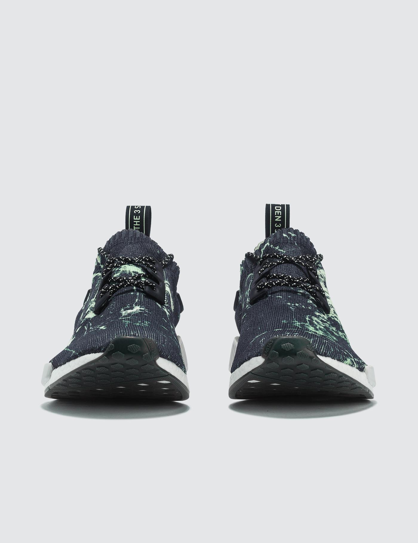 799f4dedc3393d Lyst - Adidas Originals Nmd R1 Runner Primeknit in Black for Men