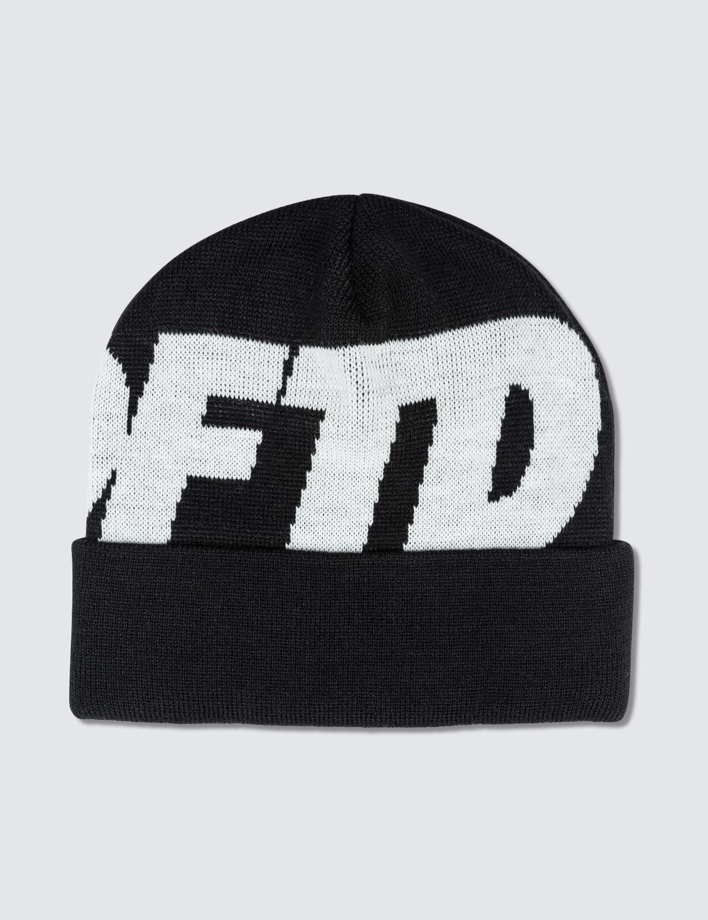b4e3875d4f0 Lyst - Undefeated Undftd Logo Beanie in Black for Men