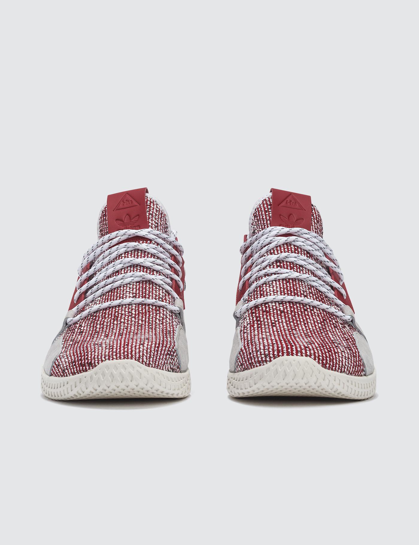 innovative design 5f934 966f8 adidas Originals Pharrell Williams X Adidas Solar Hu Tennis V2 in Red - Lyst