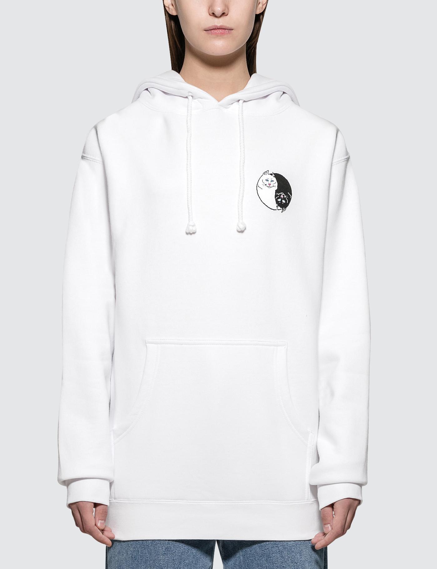 b7ef47ab0b1b2 RIPNDIP Nermal Yang Pullover Sweater in White - Lyst