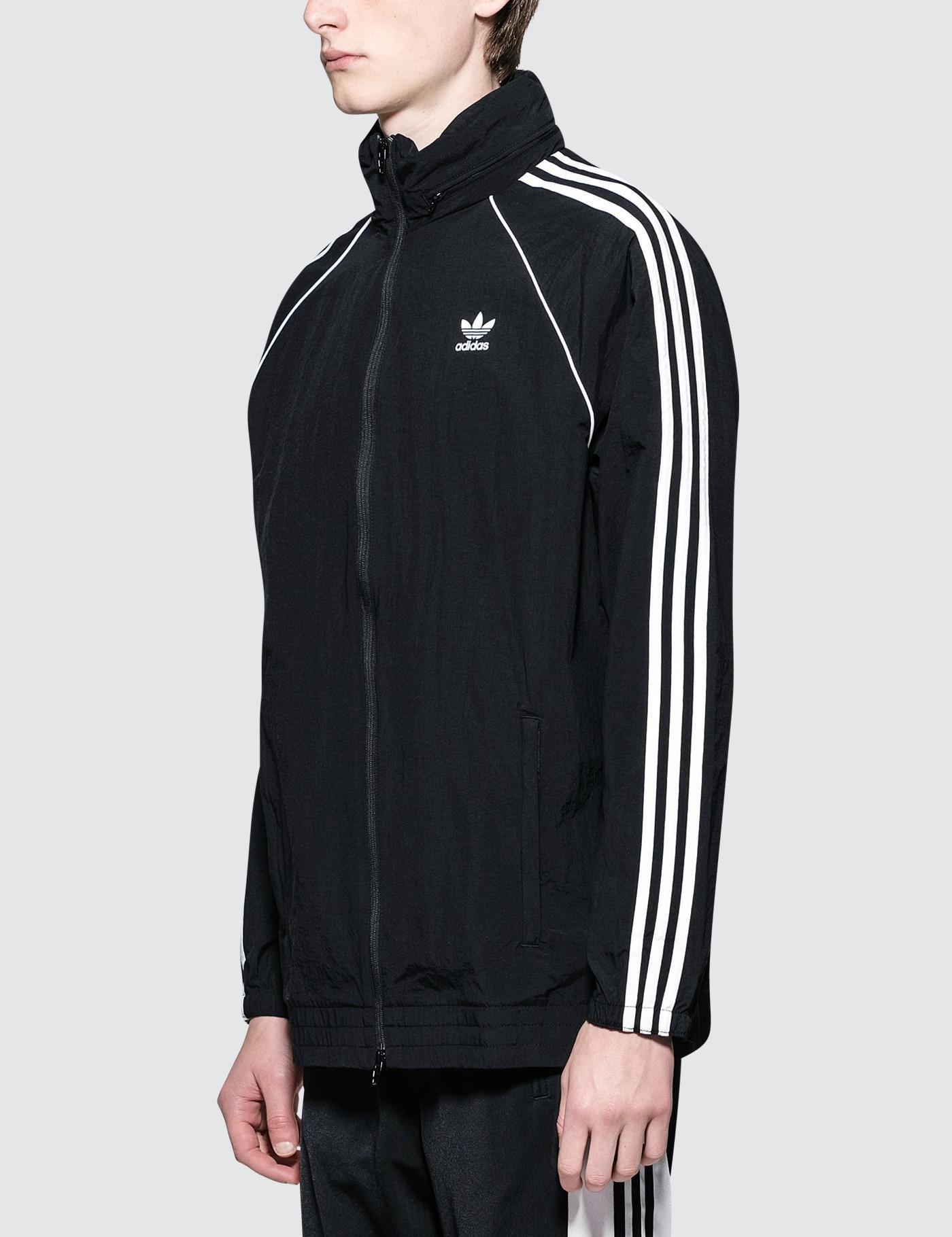 4e08d960d6 adidas Originals Sst Windbreaker Jacket - Mens S in Black for Men - Save  51% - Lyst