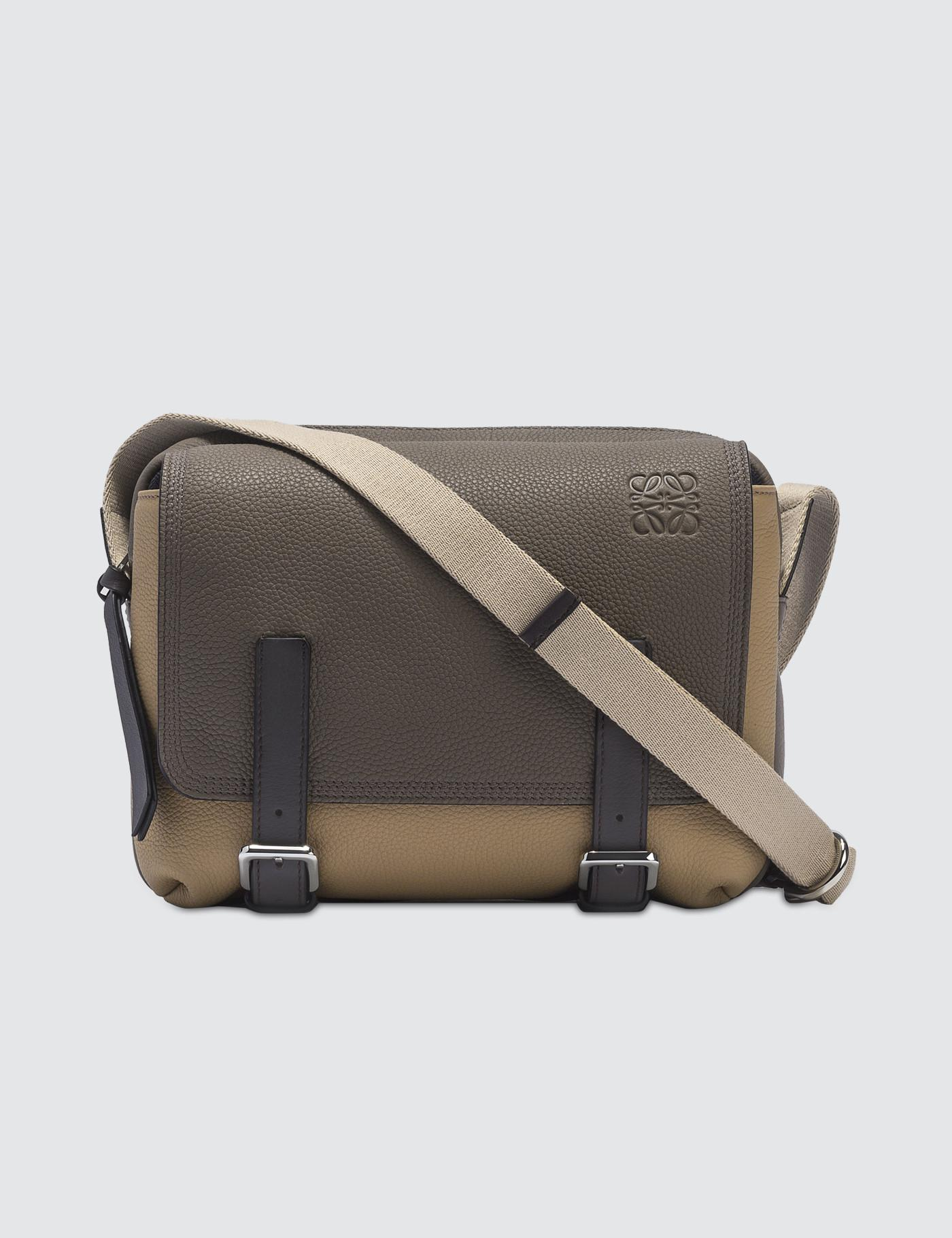 Loewe Military Messenger Xs Bag in Natural for Men - Save 25% - Lyst 3ab0502bf7