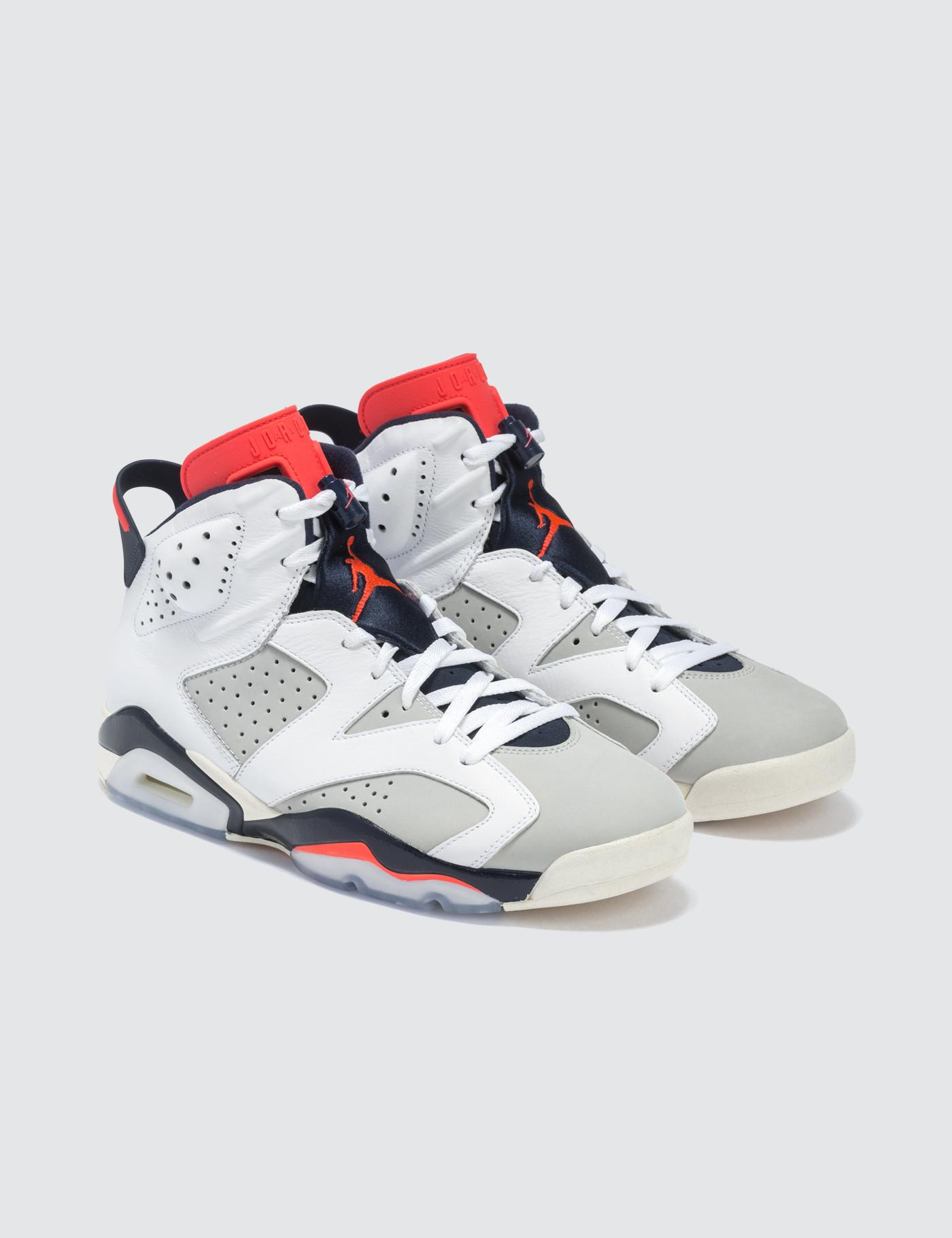 7c5ba75eed1fc9 Lyst - Nike Air Jordan 6 Retro in White for Men - Save 13%
