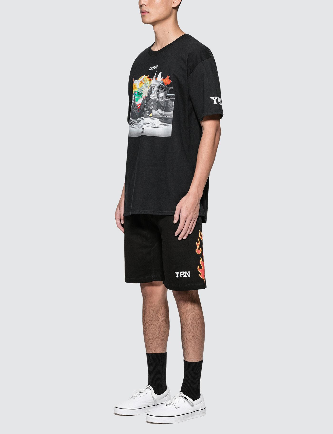 2005a5328 Lyst - YRN Round Table S/s T-shirt in Black for Men