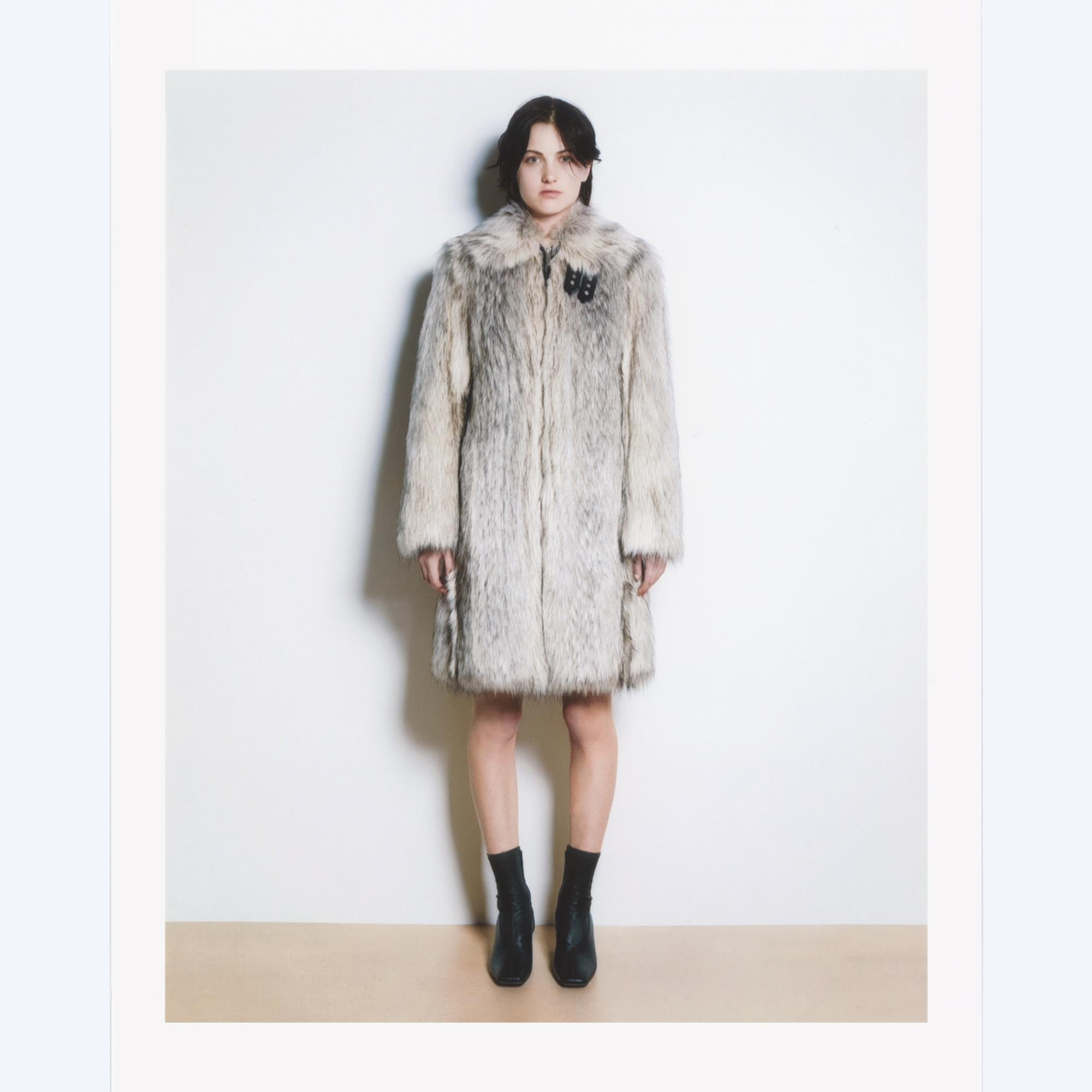 21c7729adf71 Helmut Lang. Women s Gray Wolf Jacket