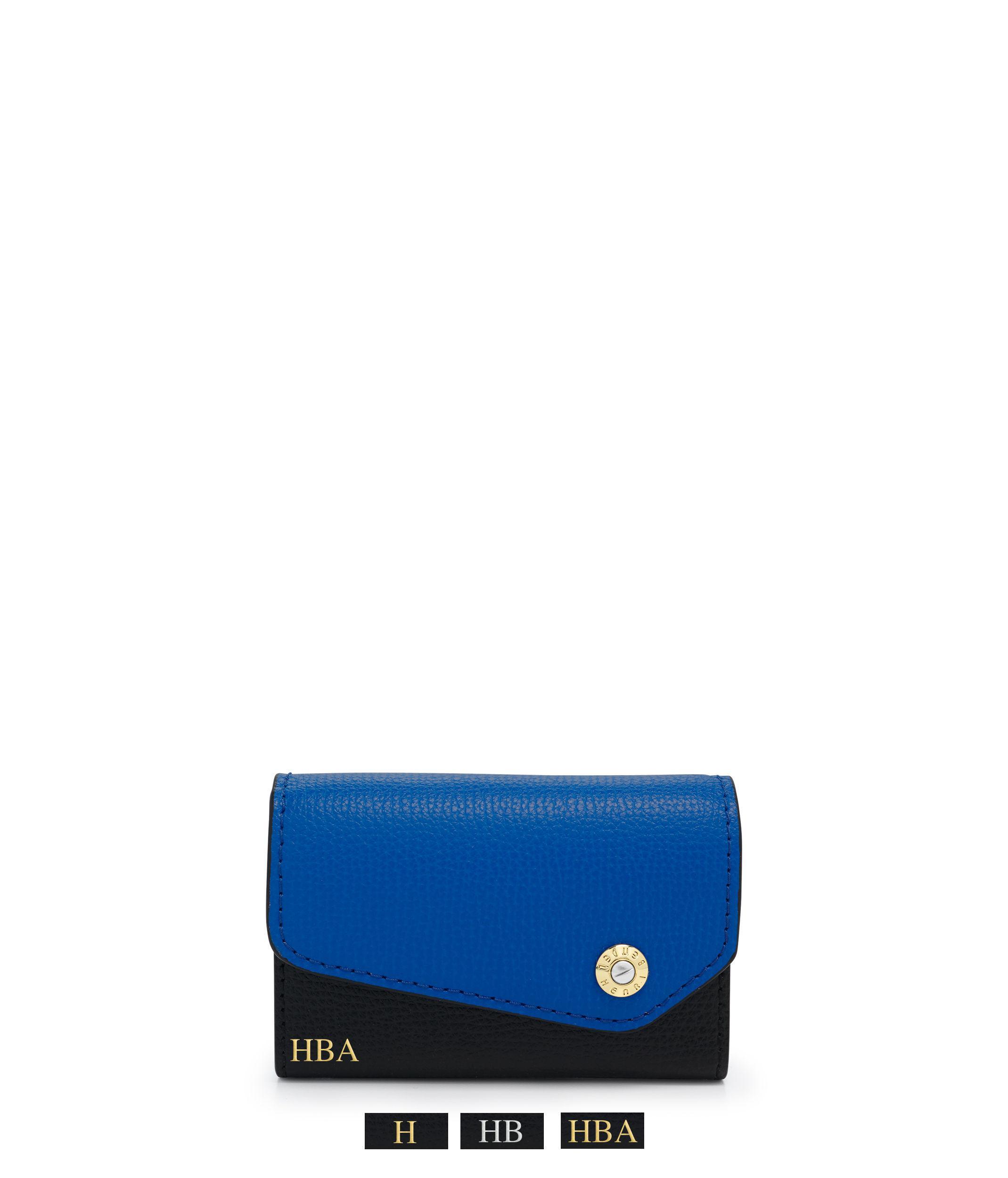 Lyst - Henri Bendel West 57th Color Blocked Business Card Case in Blue