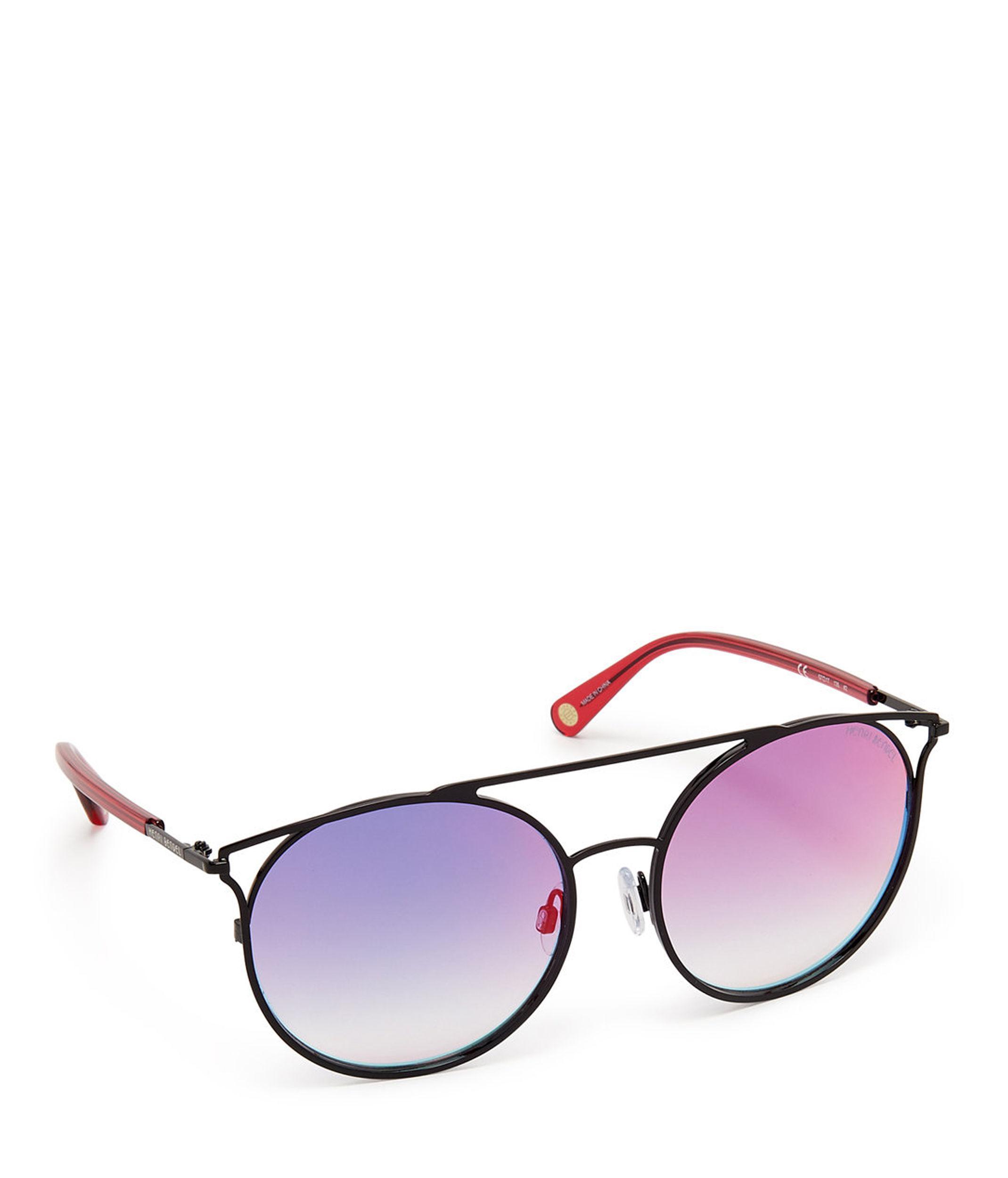 a4b40e7d11 Lyst - Henri Bendel Jade Round Sunglasses in Black