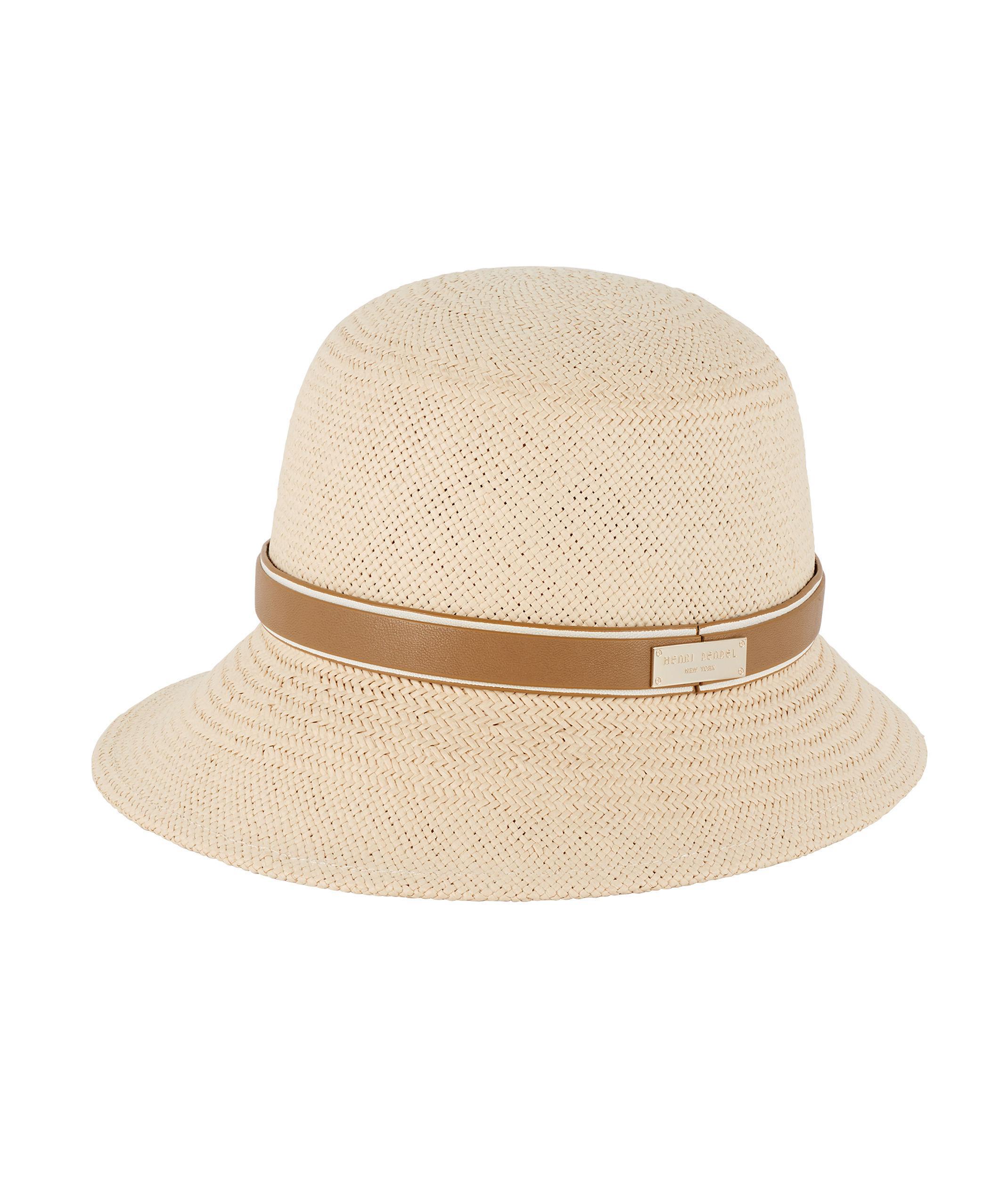 4020afcfcc6 Lyst - Henri Bendel Meadow Straw Hat in Natural