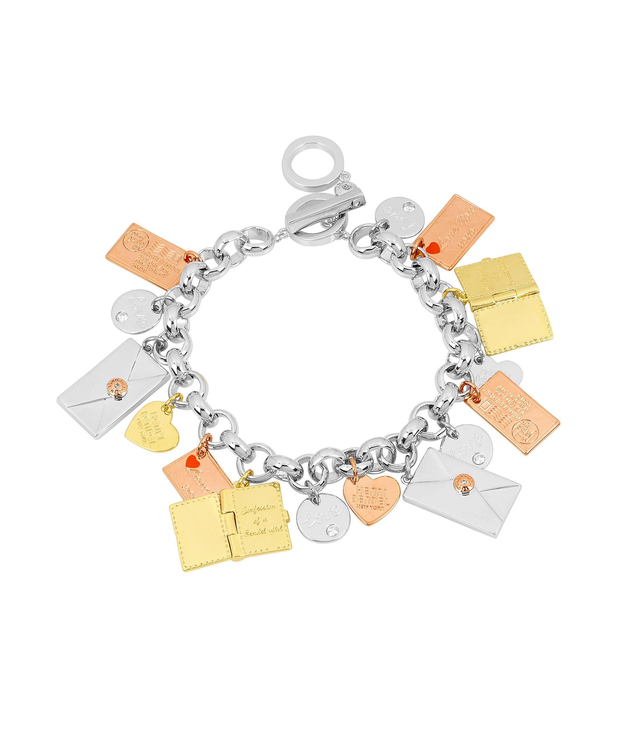 Henri Bendel Fantasy Floral Charm Bracelet Vxzq1qw