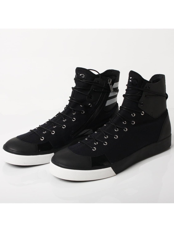 08d1292335f3 Y-3 Sentinel High Sneakers Black in Black - Lyst