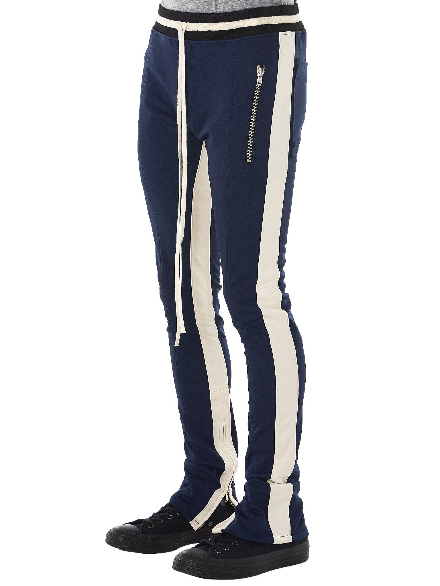 Lyst Fear Of God Double Knit Track Pants In Blue For Men