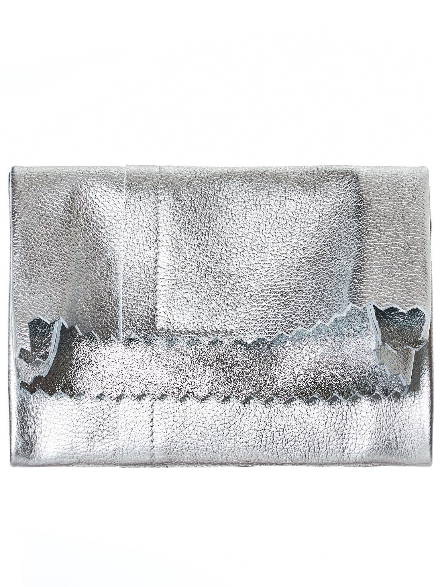 Silver Fold Over Clutch Maison Martin Margiela 7JrQzlpVL