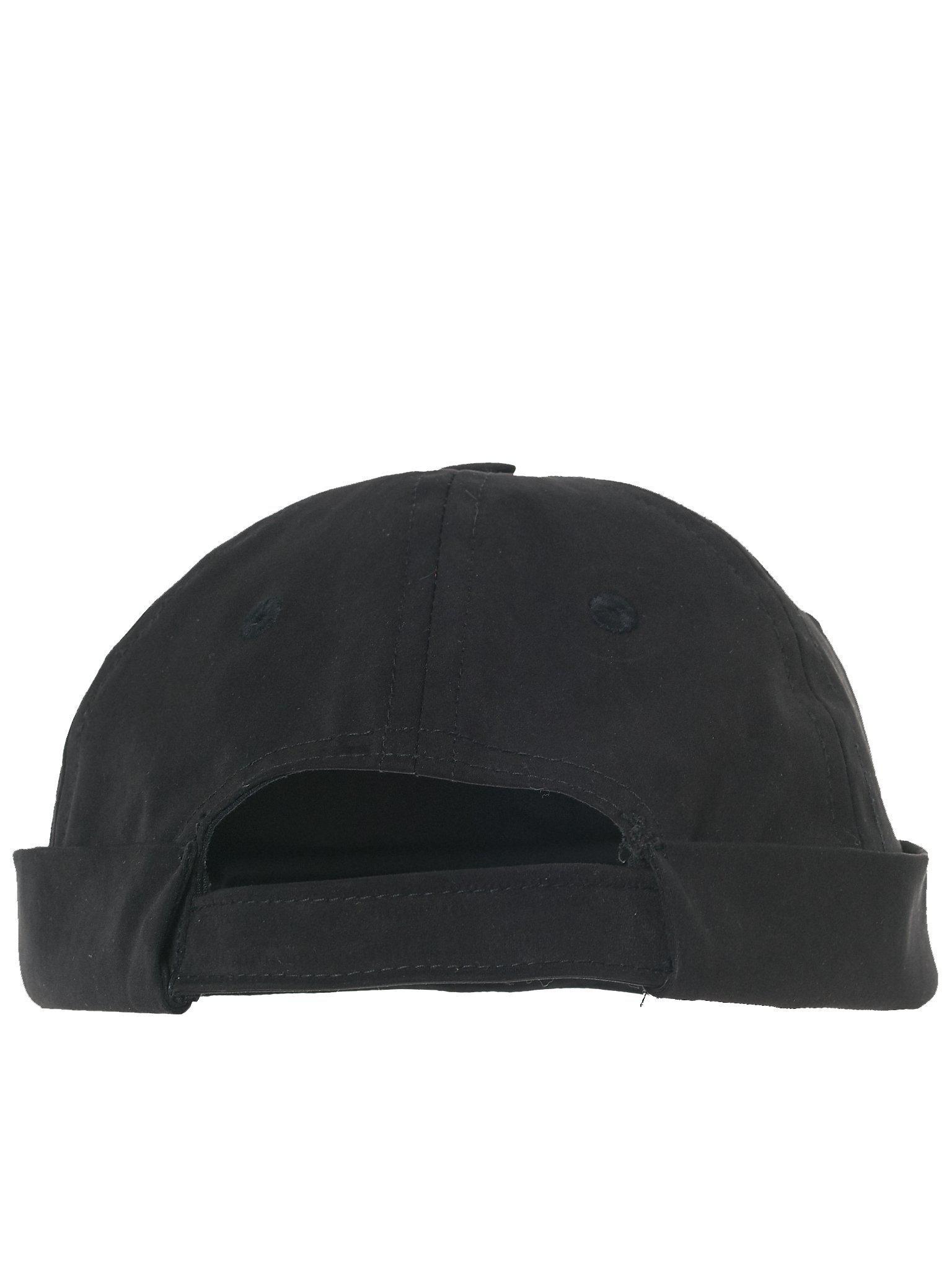 090ecef163b Lyst - Boris Bidjan Saberi 11 Embroidered Brimless Cap in Black for Men