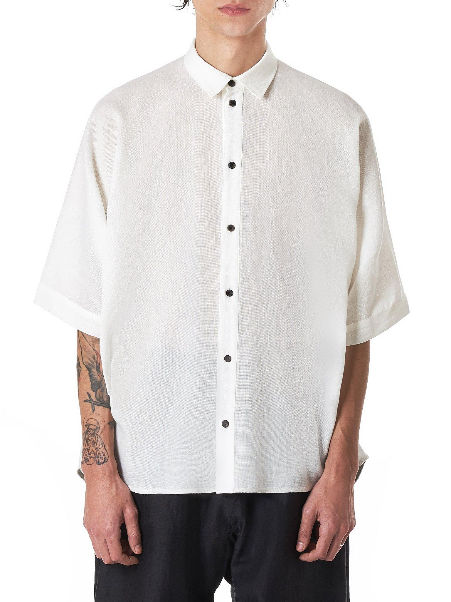 69f5c70a8d8 Lyst - Jan Jan Van Essche Boxy Shirt in White for Men