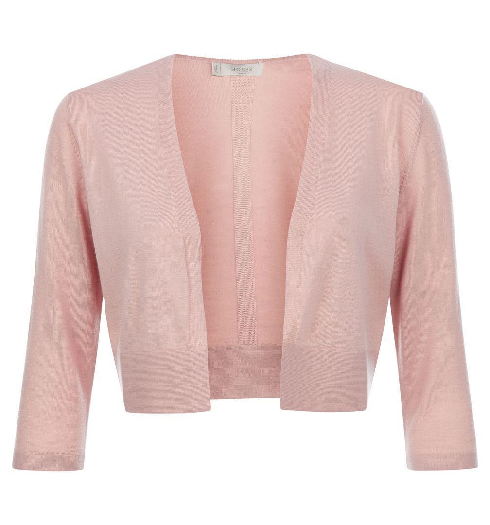 Hobbs Elize Bolero in Pink