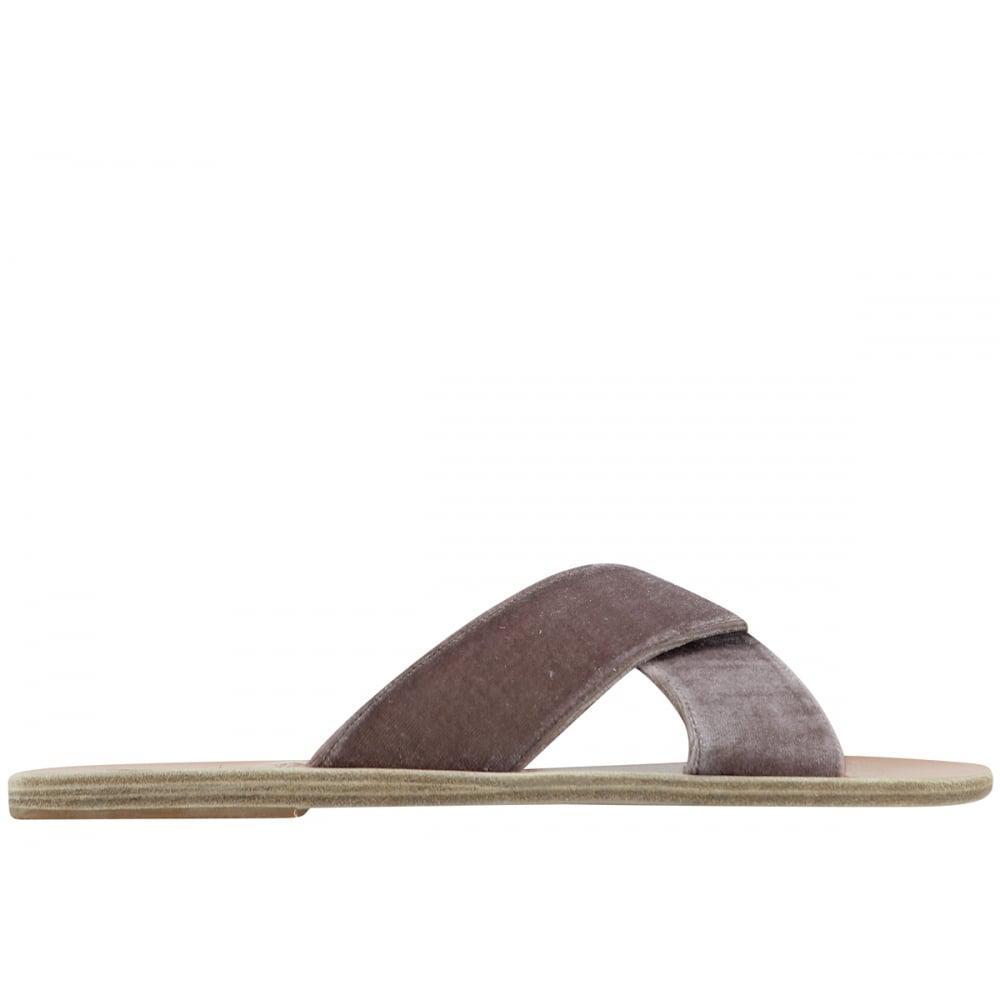 Ancient Greek Sandals Velvet Mules vz1fI8v7