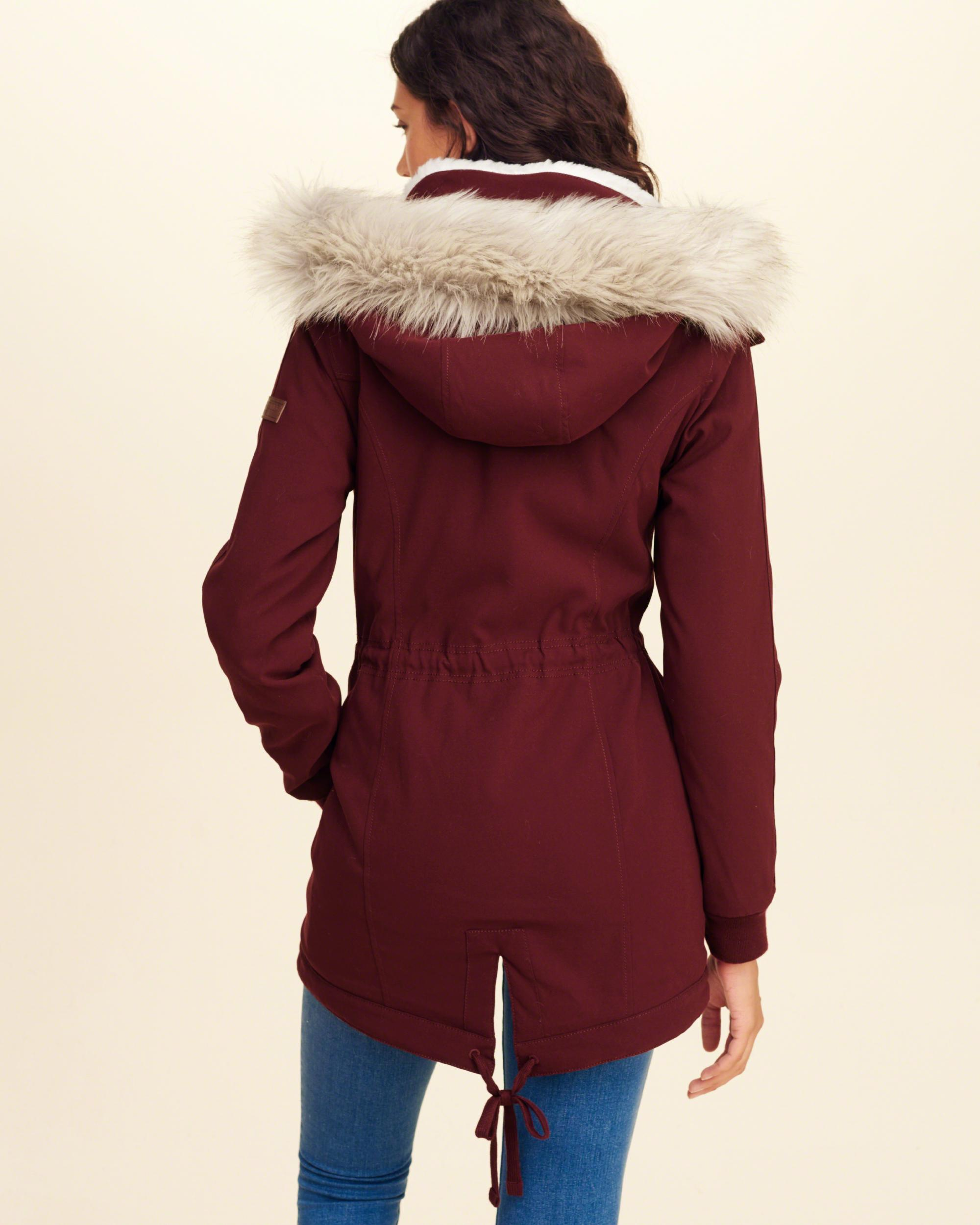 Lyst Hollister Cozy Lined Parka
