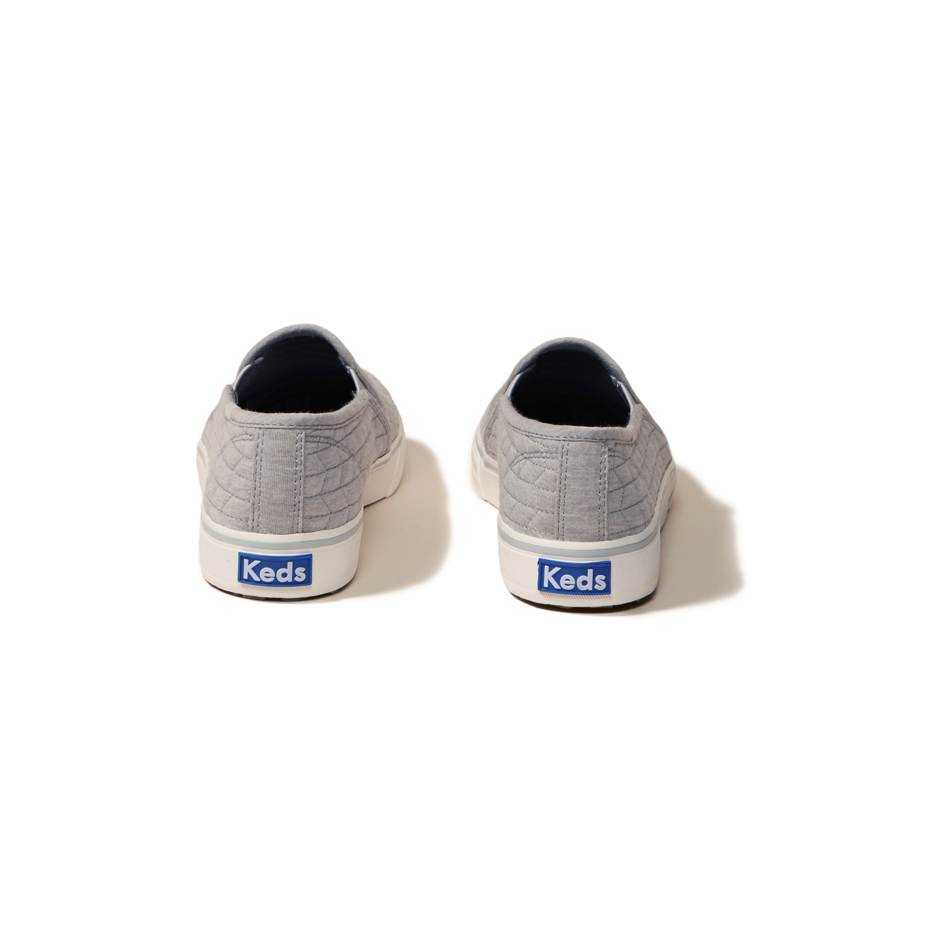 Hollister Keds Double Decker Quilted Jersey Sneakers In