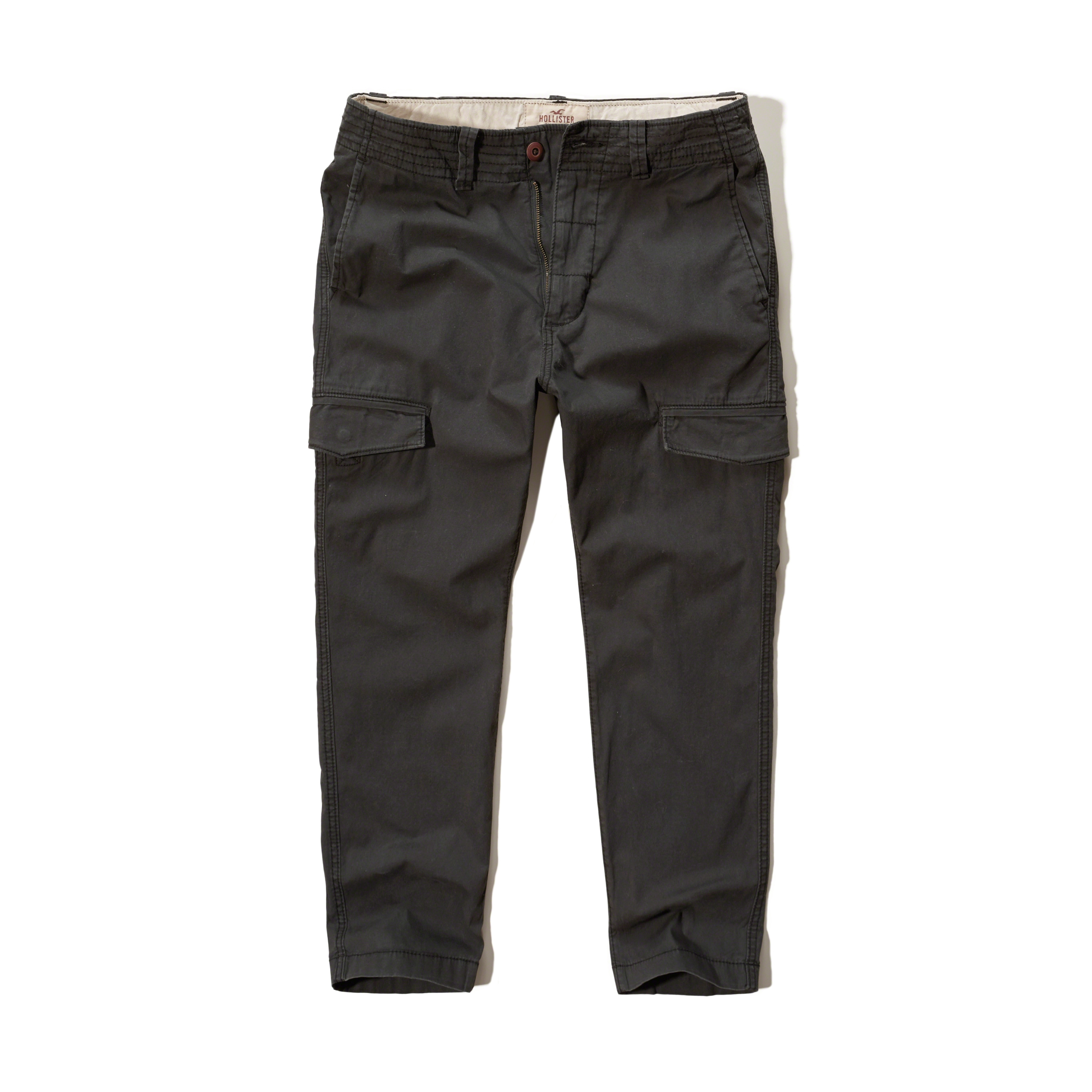 Lyst - Hollister Ankle Cargo Pants in Gray for Men