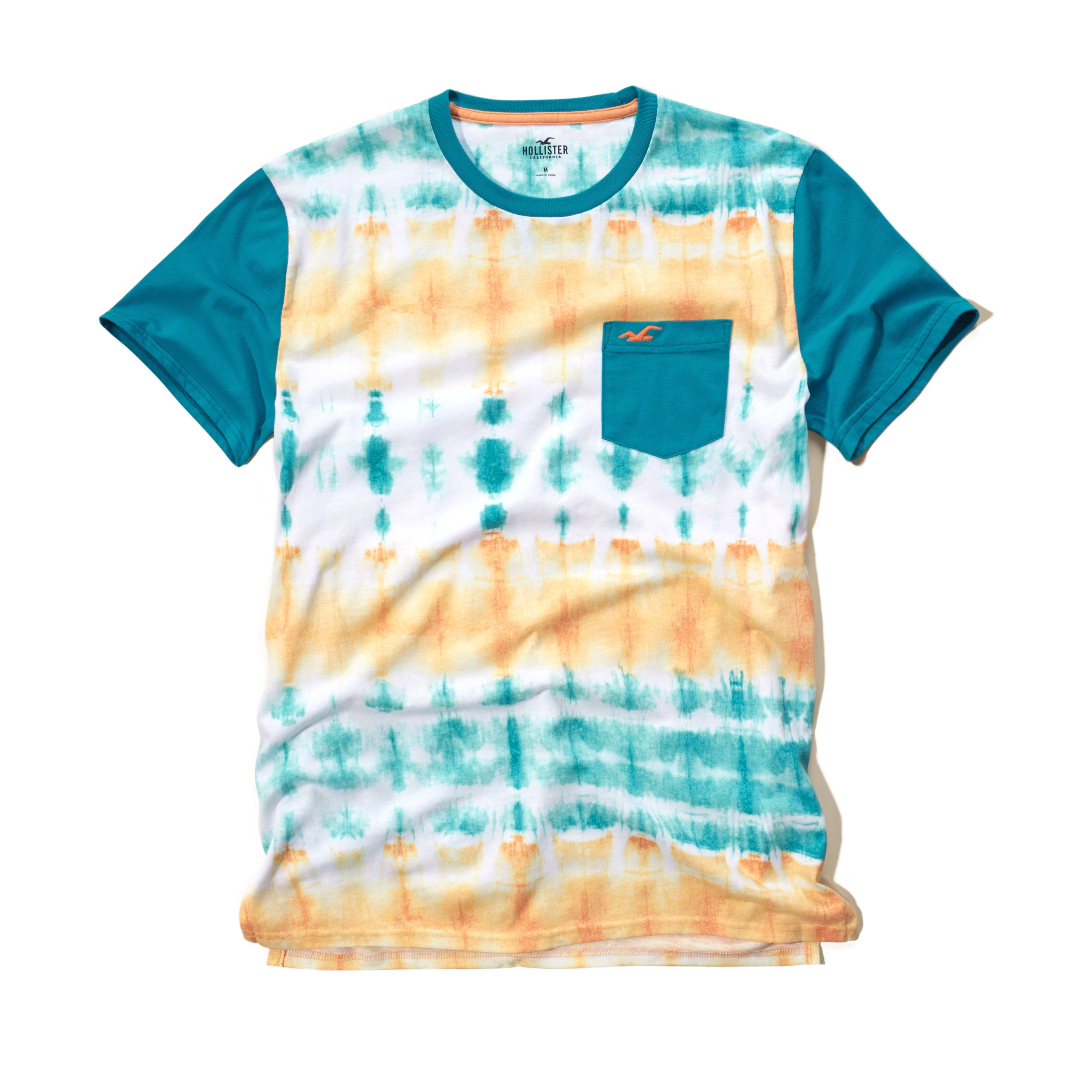Hollister Wash Effects T-shirt for Men | Lyst