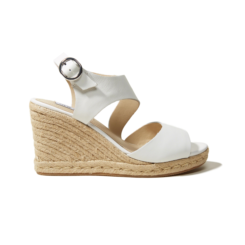 d8b45fb7dd1 Lyst - Hollister Steve Madden Wavi Sandals in White