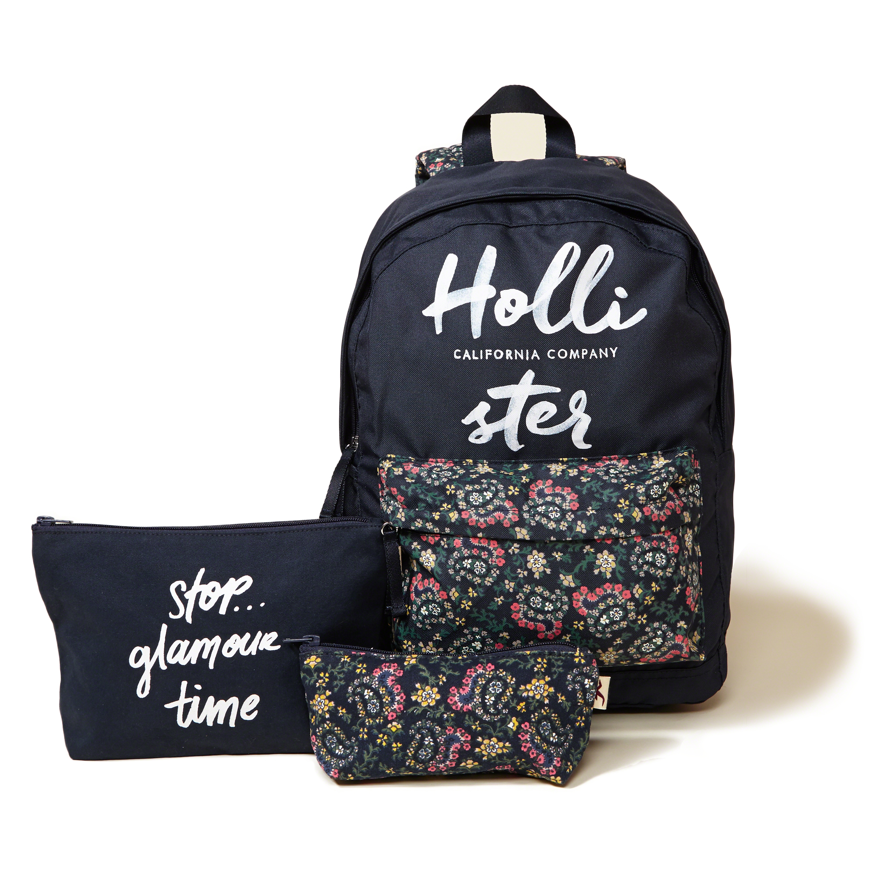 Lyst Hollister Printed Nylon Backpack