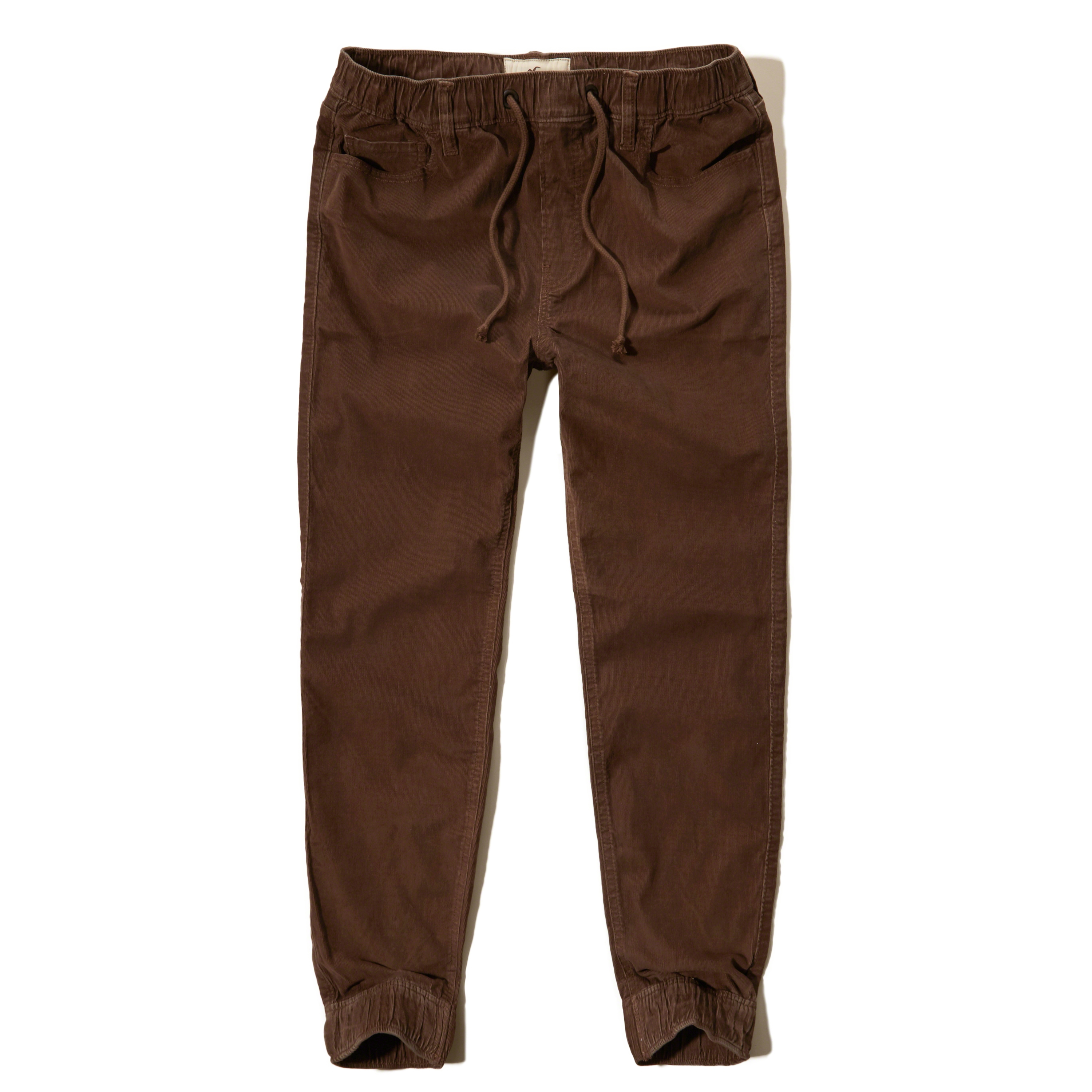 Khaki Joggers for Women A pair of khaki joggers for women featuring 5 functional pockets, 2 button cargo pockets, elastic waist with drawstring, and a mid rise skinny pant silhouette.5/5(6).
