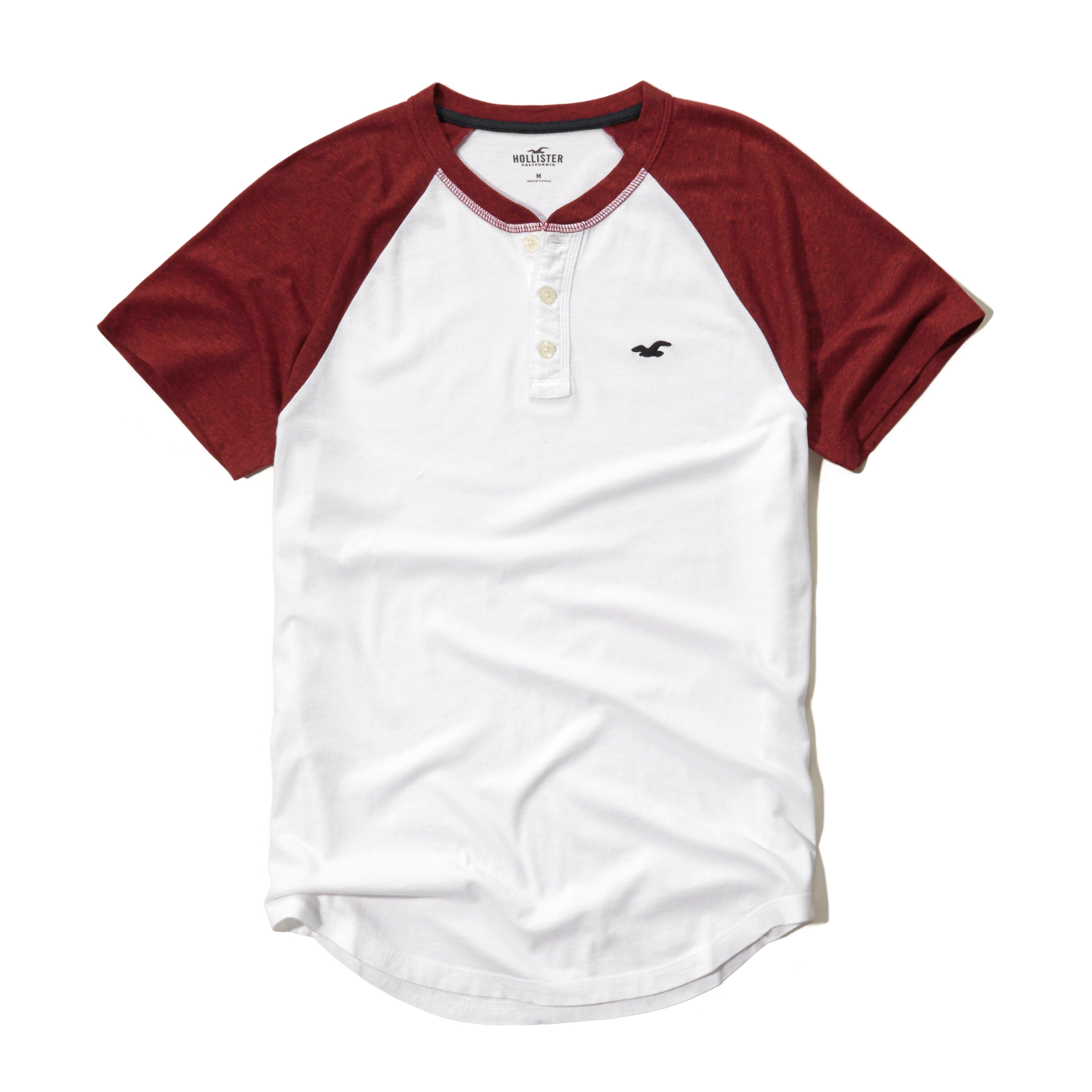 Lyst hollister must have henley in white for men for Must have dress shirts