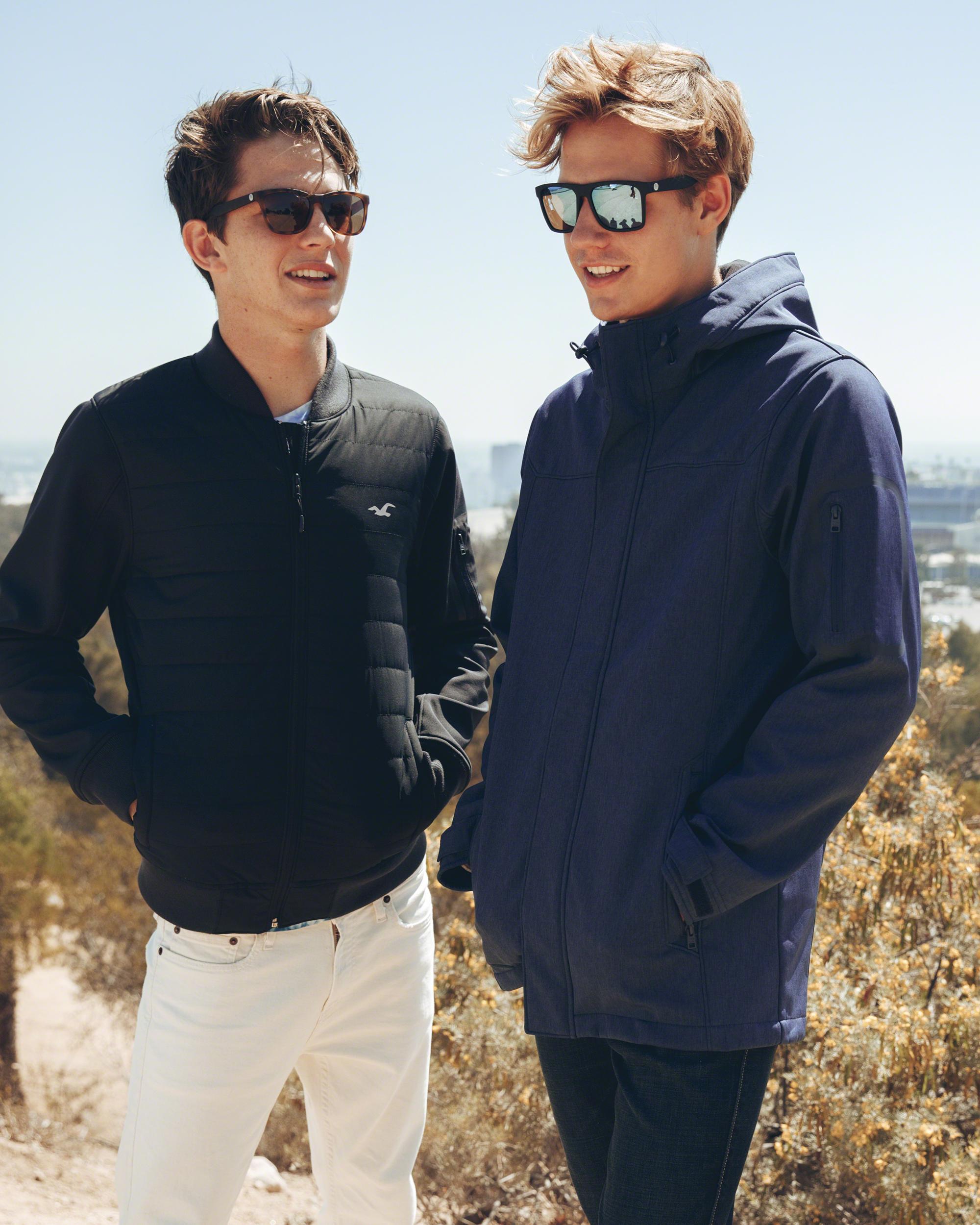 1fb149cc33 ... Lyst Hollister Sunski Madrona Sunglasses in Brown for Men