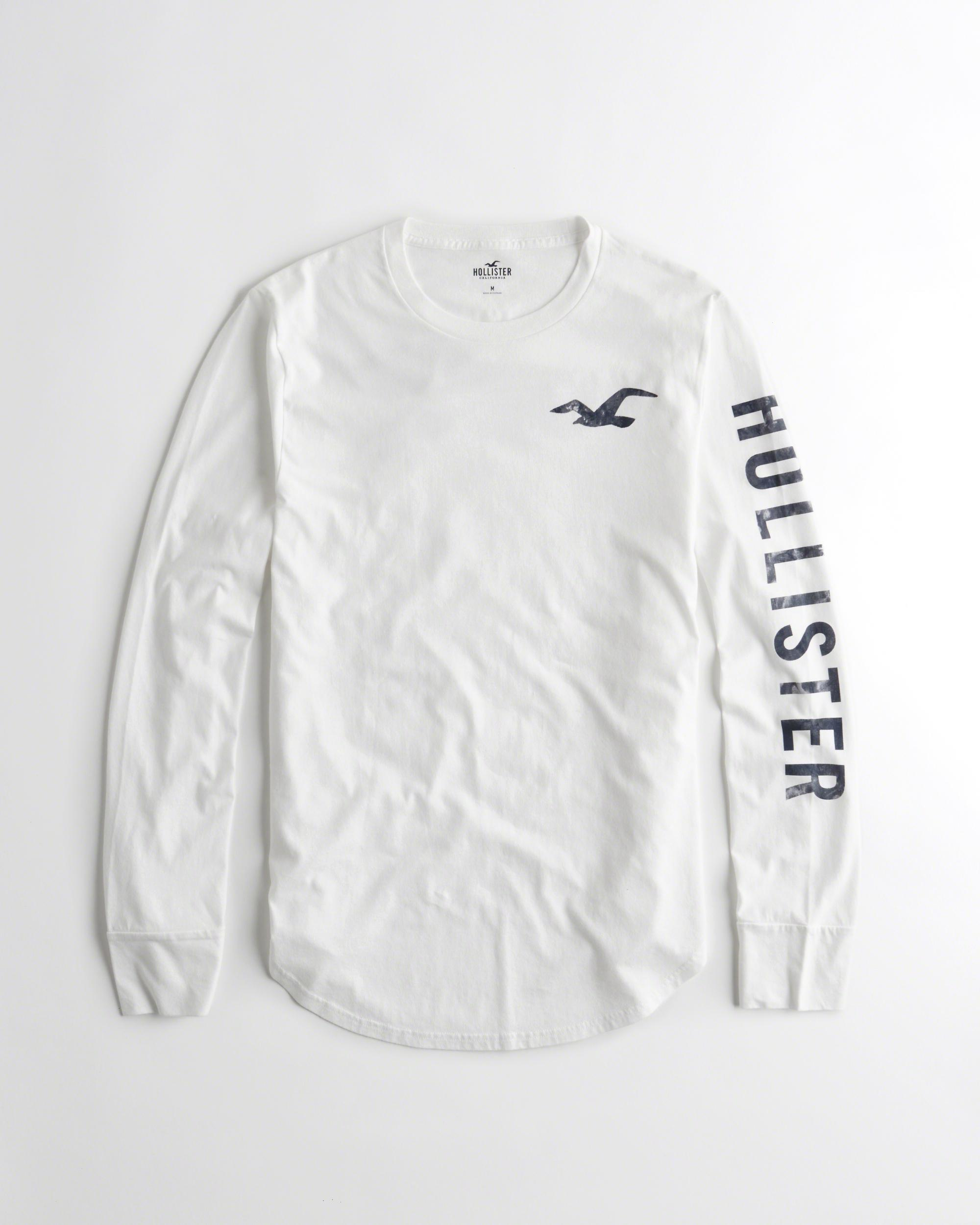 926ac1366fe0 Hollister Long Sleeve Shirts Mens