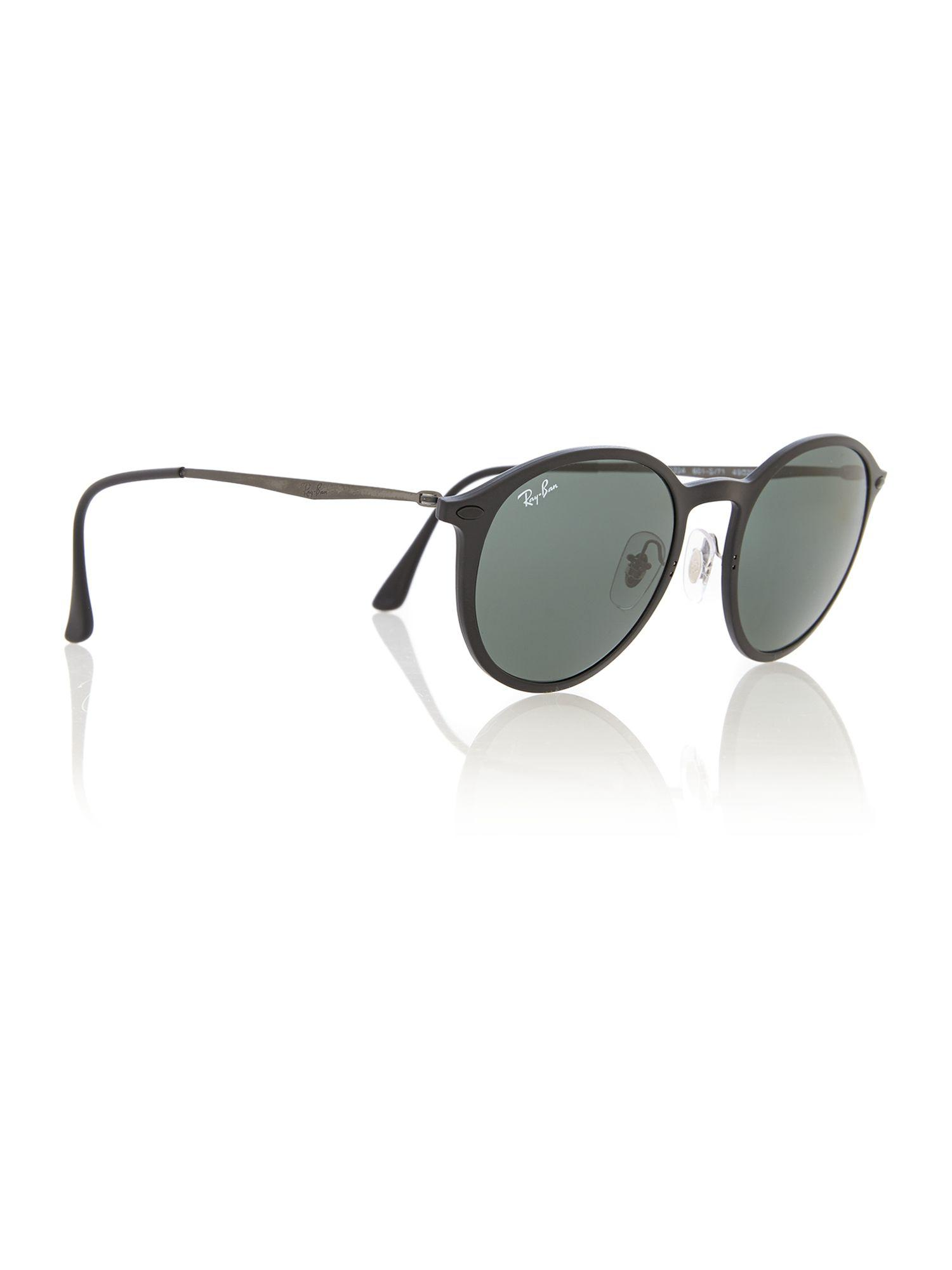 b473bdacaf1 Ray-Ban Rb4224 Round Sunglasses in Gray for Men - Lyst
