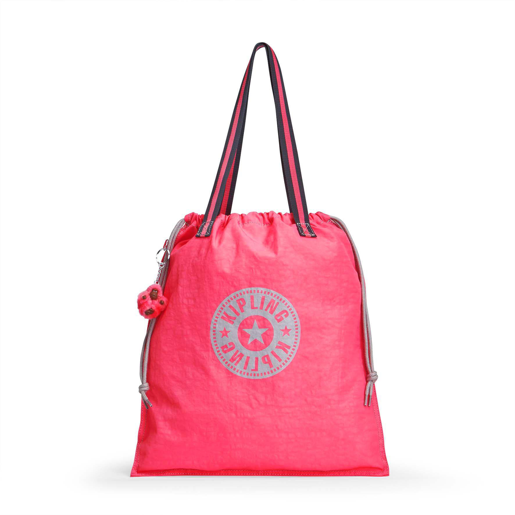 Kipling New Hiphurray Tote Foldable in Pink - Lyst 9926666371c5b