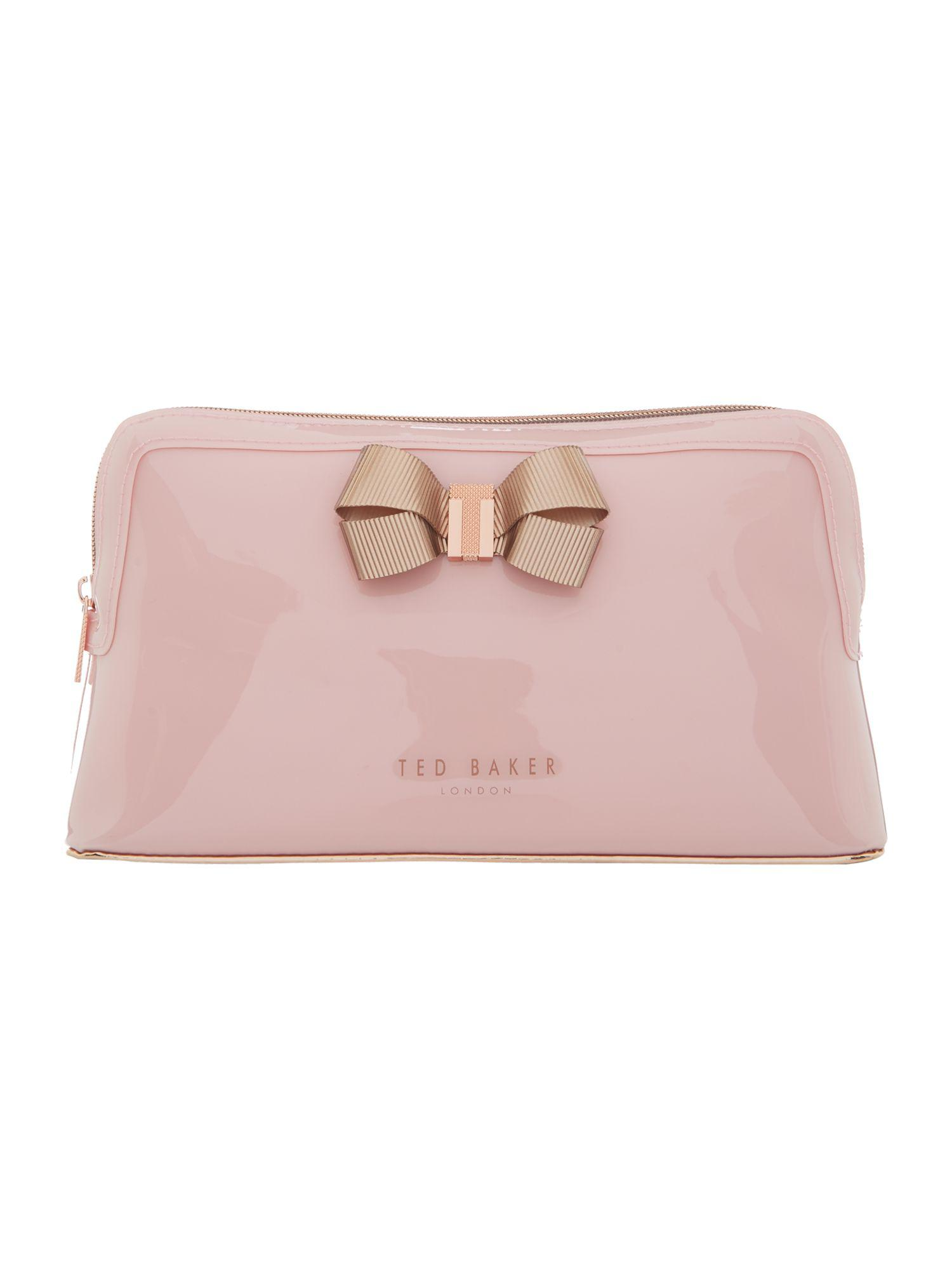 Knot Bow Leather Makeup Bag Ted Baker zAZ9Ih8X8r