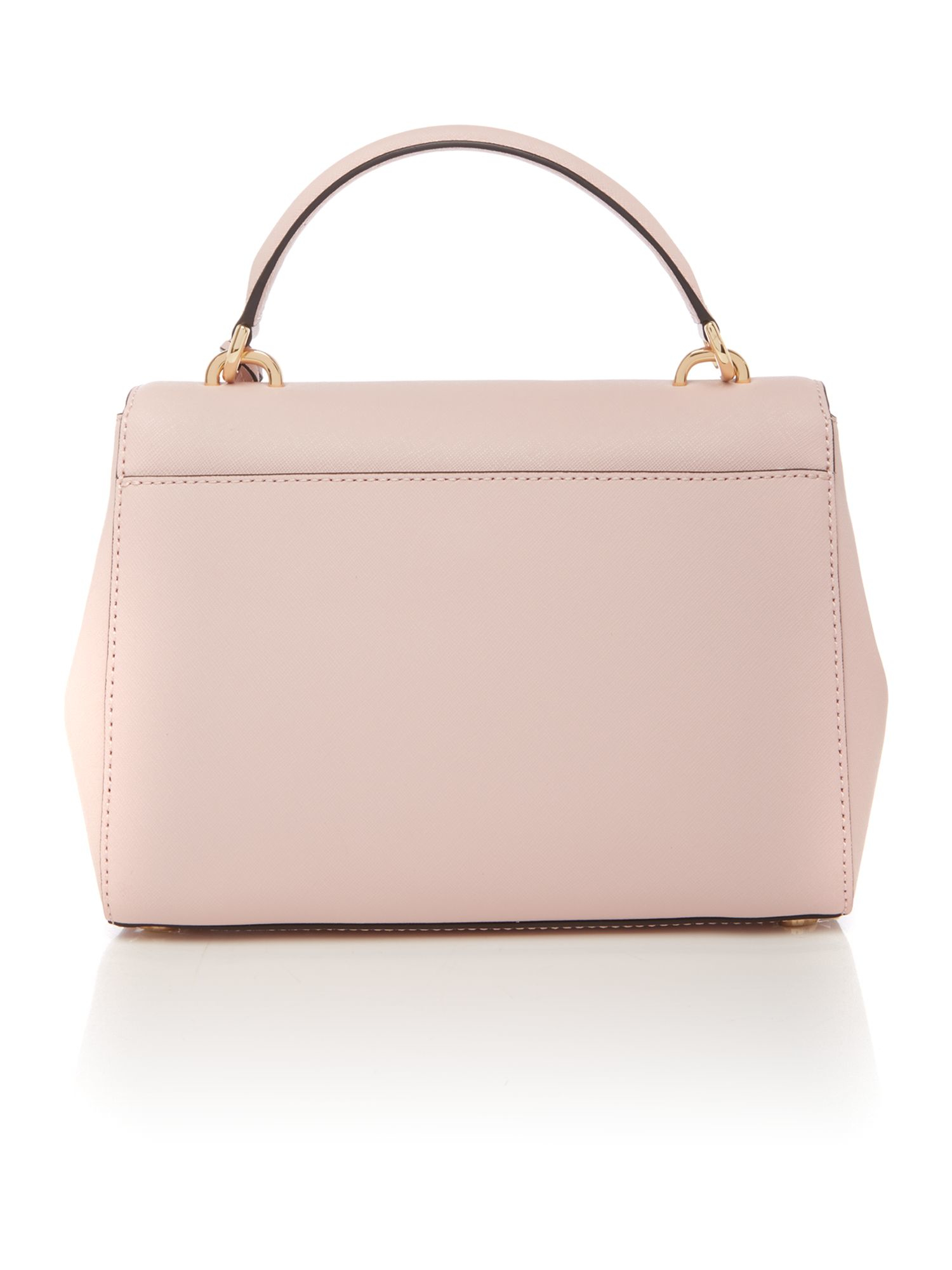 Michael Kors Ava Pink Small Satchel Bag In Pink Lyst