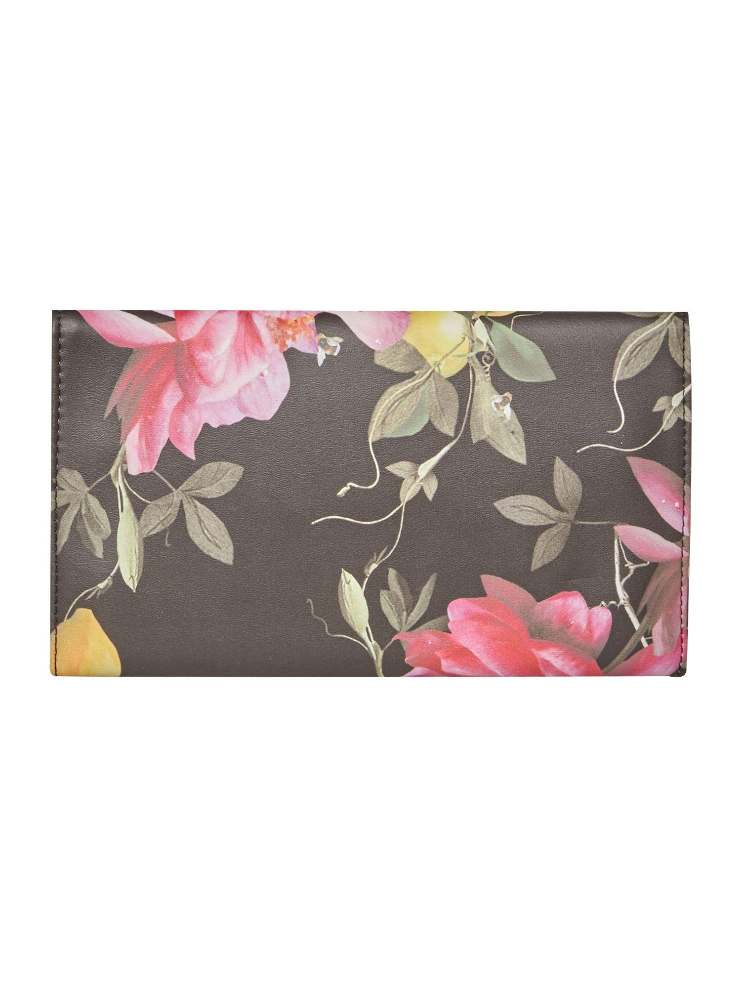 Ted Baker Black Citrus Jewellery Roll In Pink Lyst