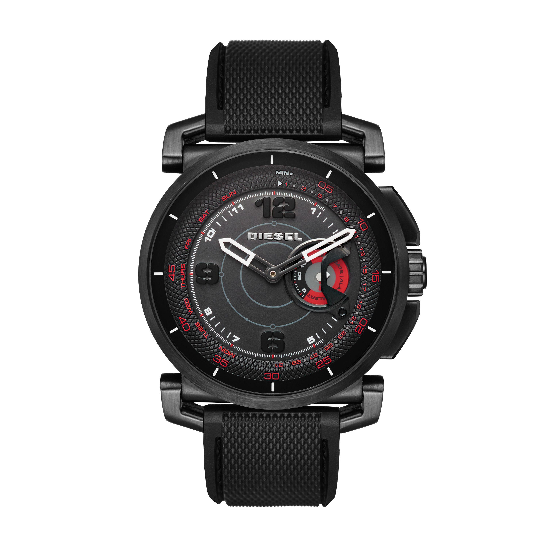 diesel dzt1006 mens strap smart watch in black for men lyst. Black Bedroom Furniture Sets. Home Design Ideas