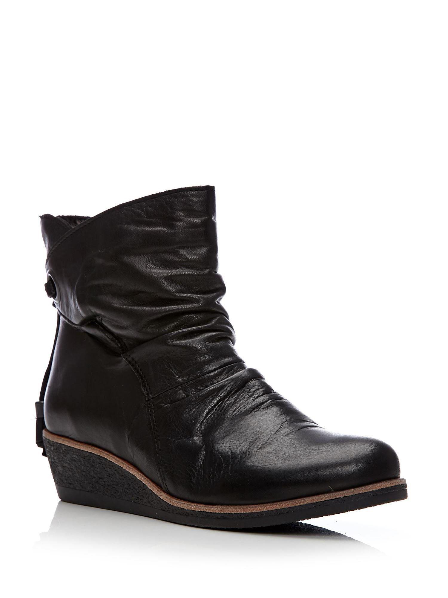 dd4d99c6d14 Moda In Pelle Adoni Low Casual Short Boots in Black - Lyst