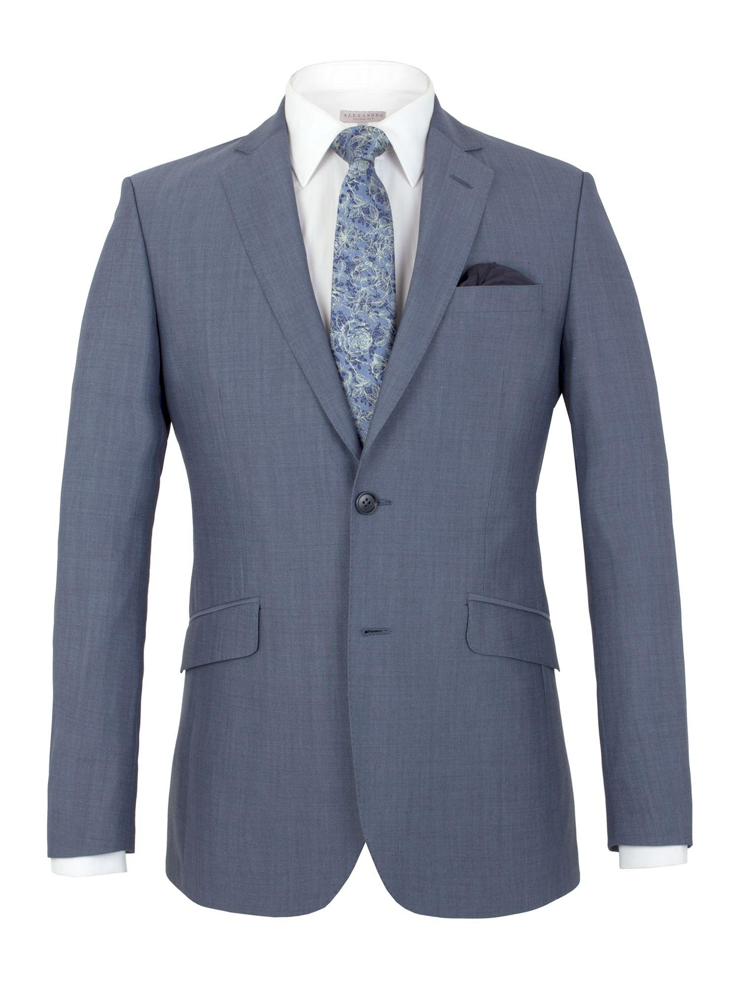 daa2f6b00 Alexandre Of England Southwark Panama Tailored Fit Jacket in Blue ...
