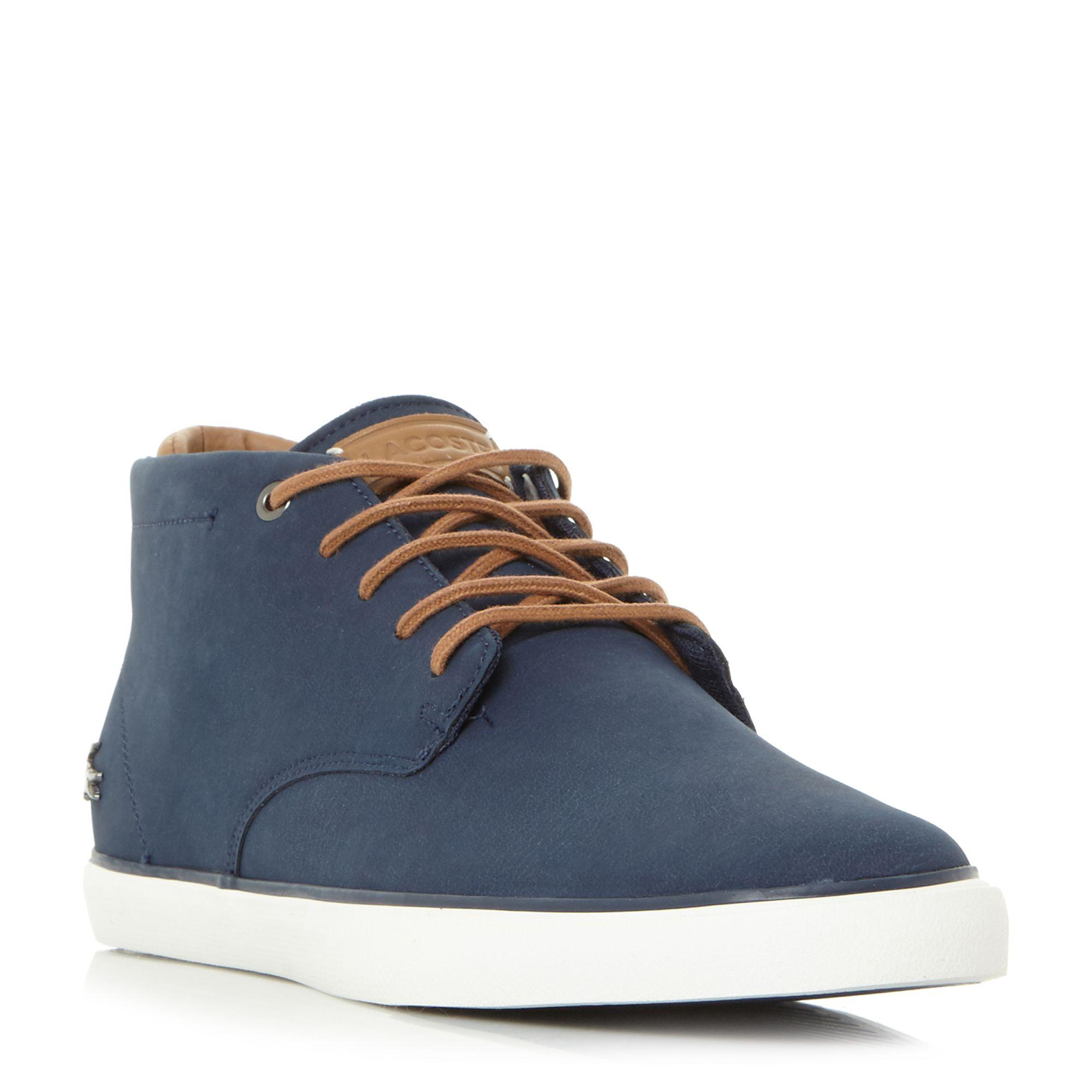Lacoste Men's Esparre Chukka 318 1 Leather/Suede Derby Chukka Boots - / - UK 10 RCafO9EdD