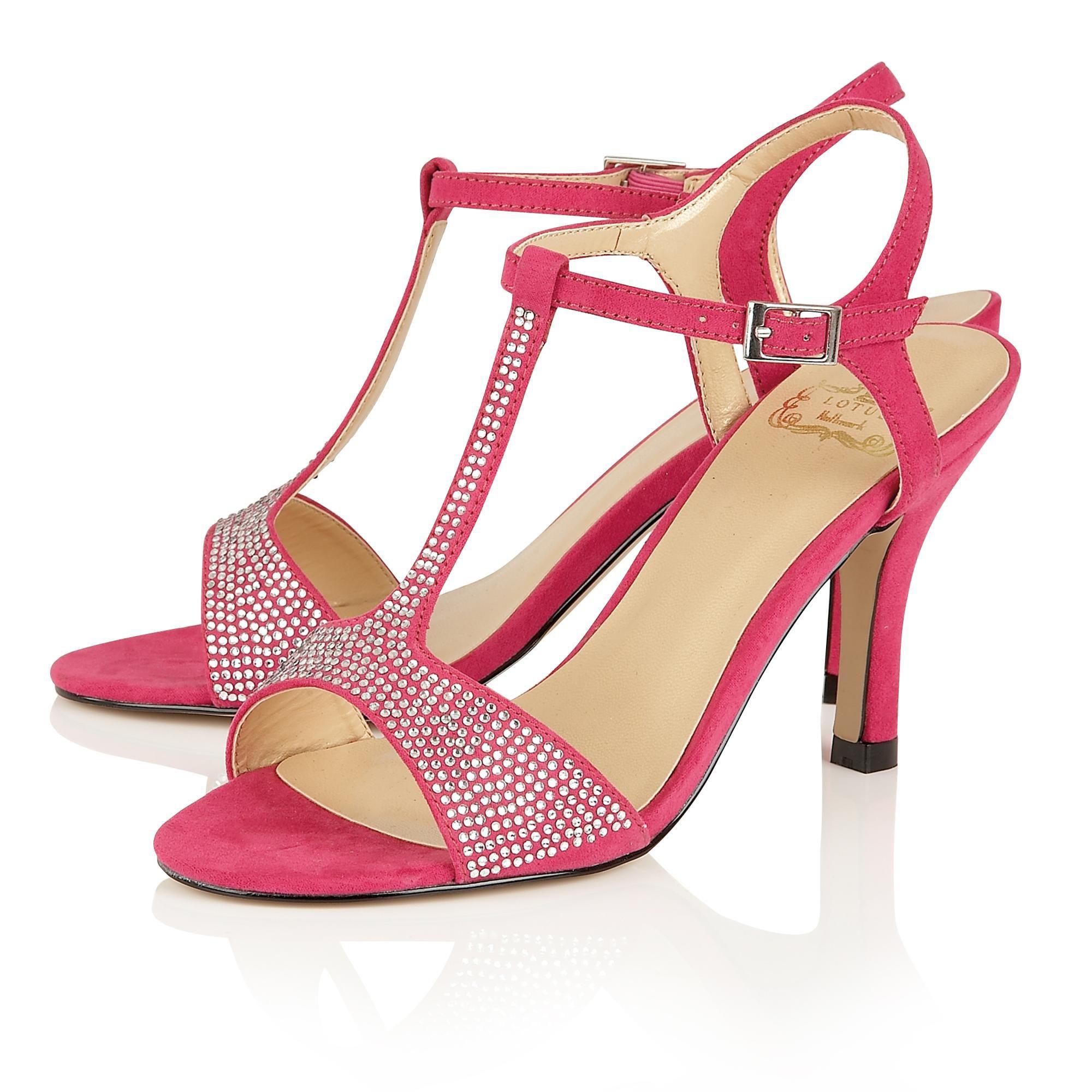 Lotus Pink Court Shoes
